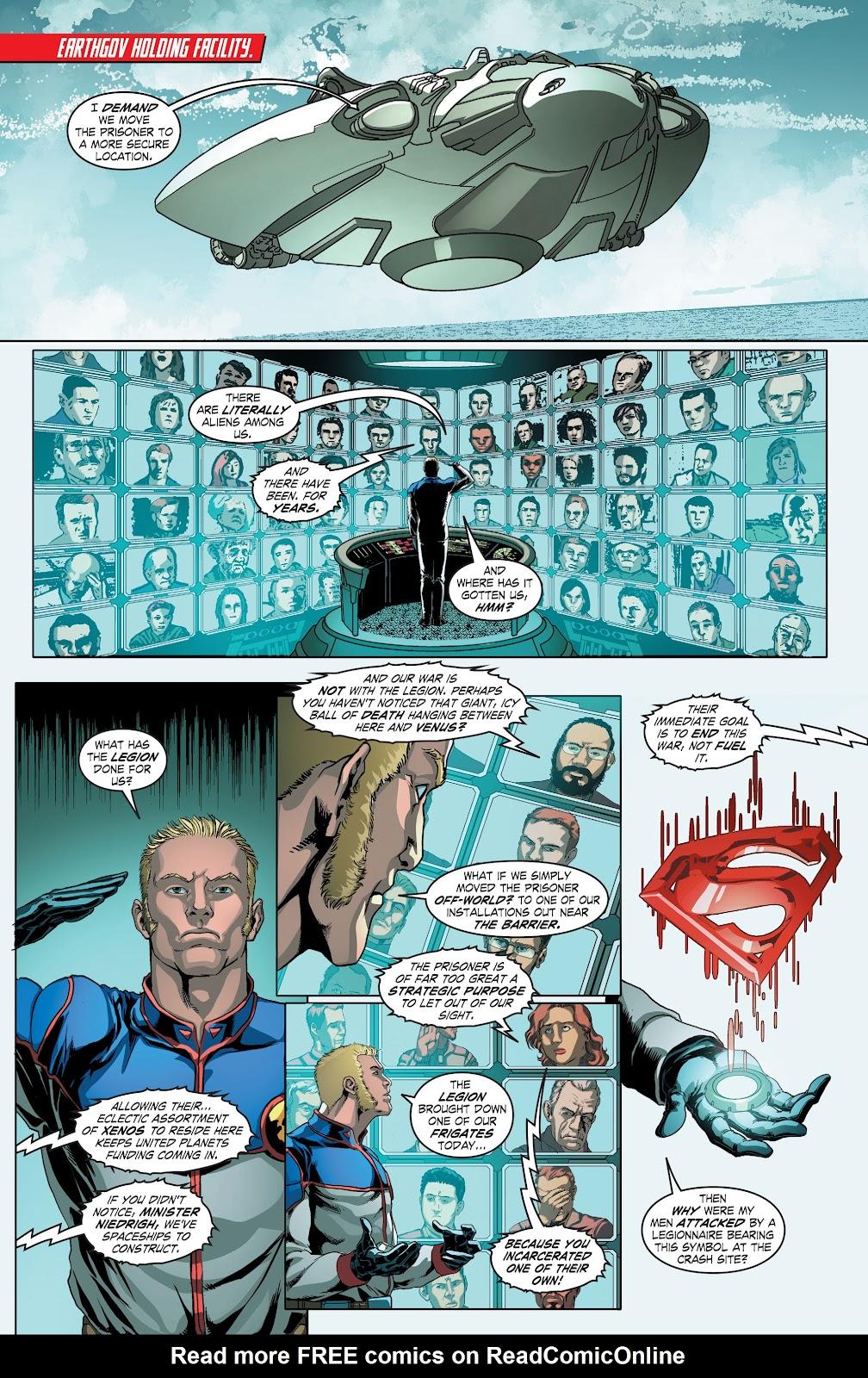 Read online Smallville Season 11 [II] comic -  Issue # TPB 4 - 32