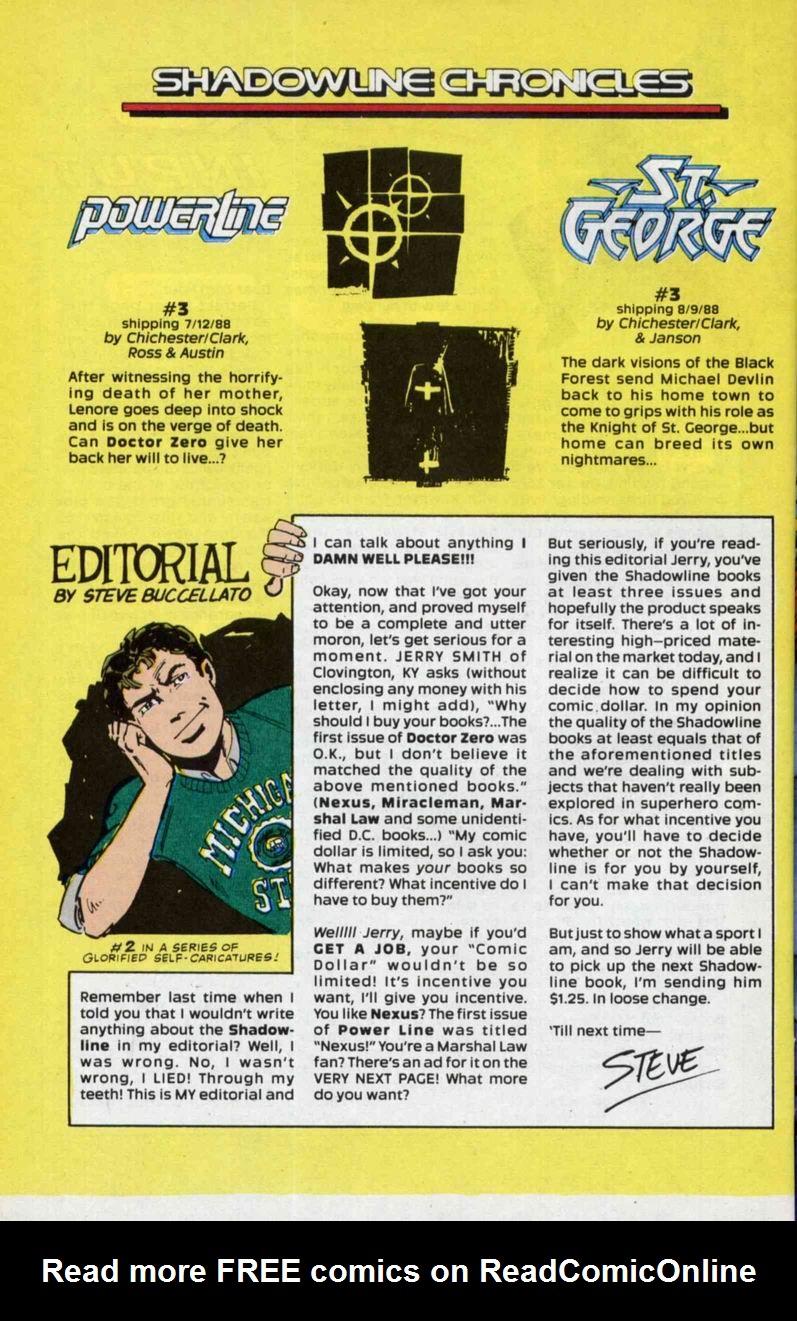 Read online Doctor Zero comic -  Issue #3 - 32