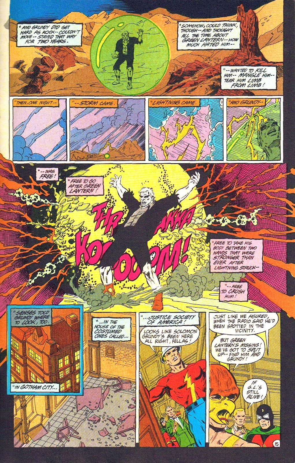 Infinity Inc. (1984) issue 39 - Page 17