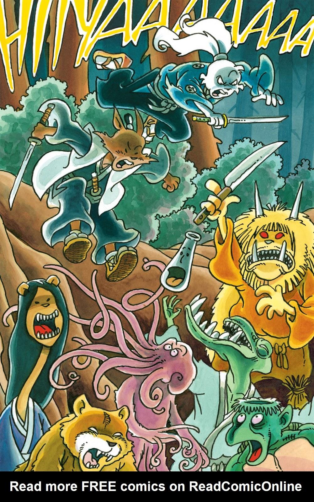 Read online Usagi Yojimbo: Yokai comic -  Issue # Full - 40