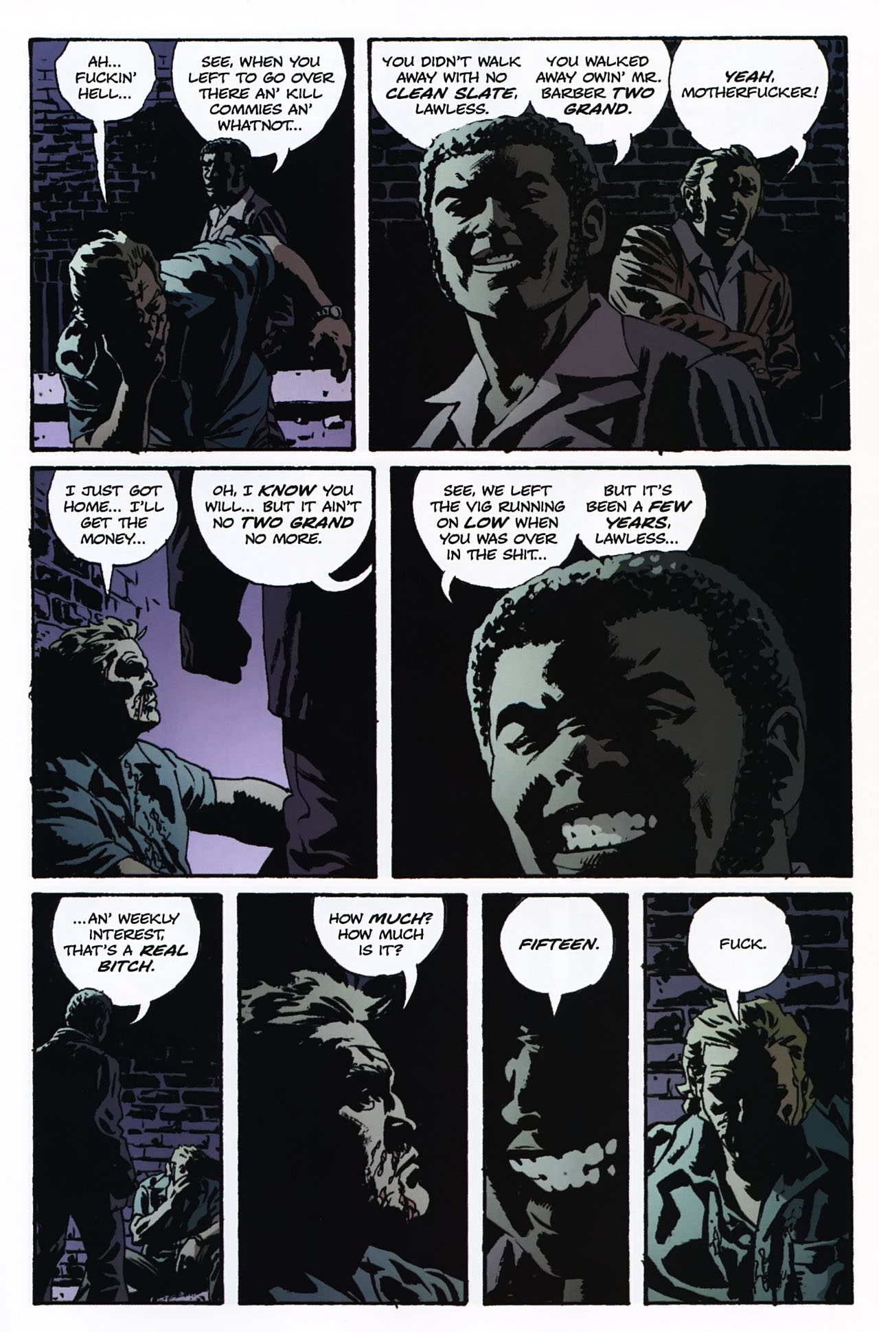 Read online Criminal (2008) comic -  Issue #2 - 10