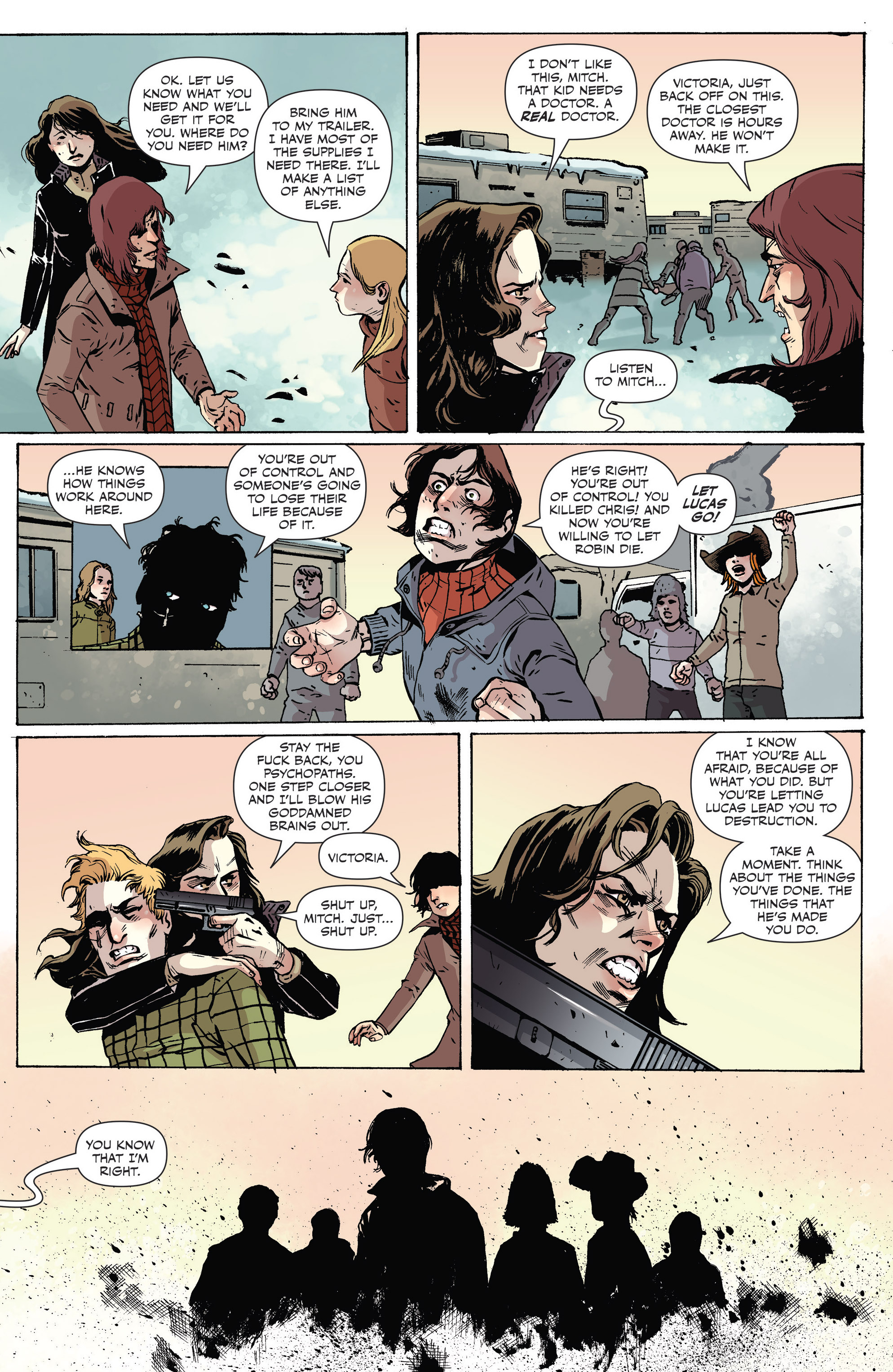 Read online Sheltered comic -  Issue #8 - 13