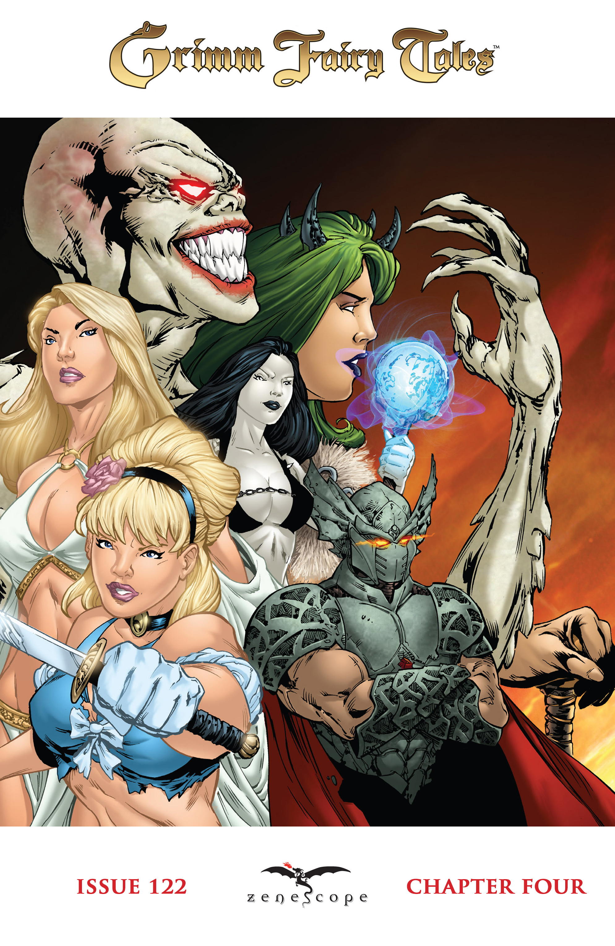 Read online Grimm Fairy Tales: Arcane Acre comic -  Issue # TPB 4 - 75