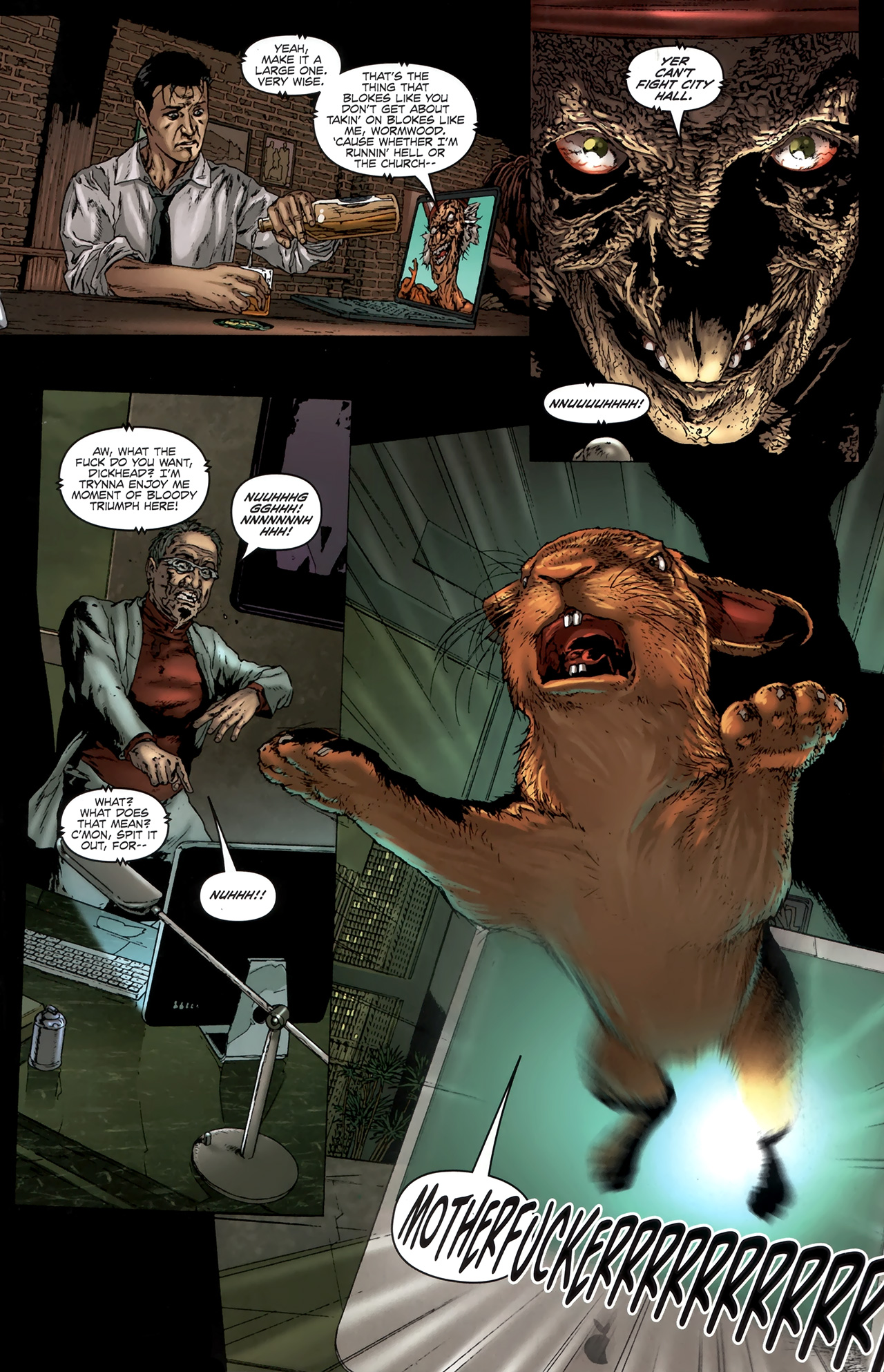 Read online Chronicles of Wormwood: The Last Battle comic -  Issue #6 - 16