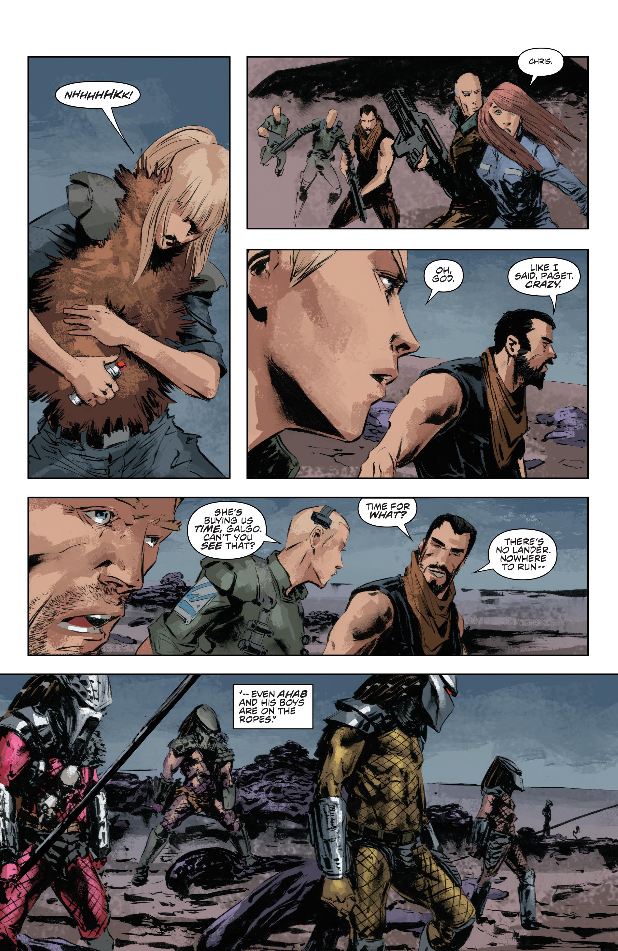 Read online Alien Vs. Predator: Life and Death comic -  Issue #4 - 7