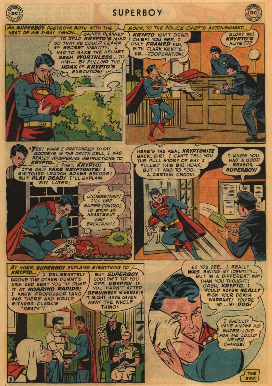 Superboy (1949) issue 67 - Page 19