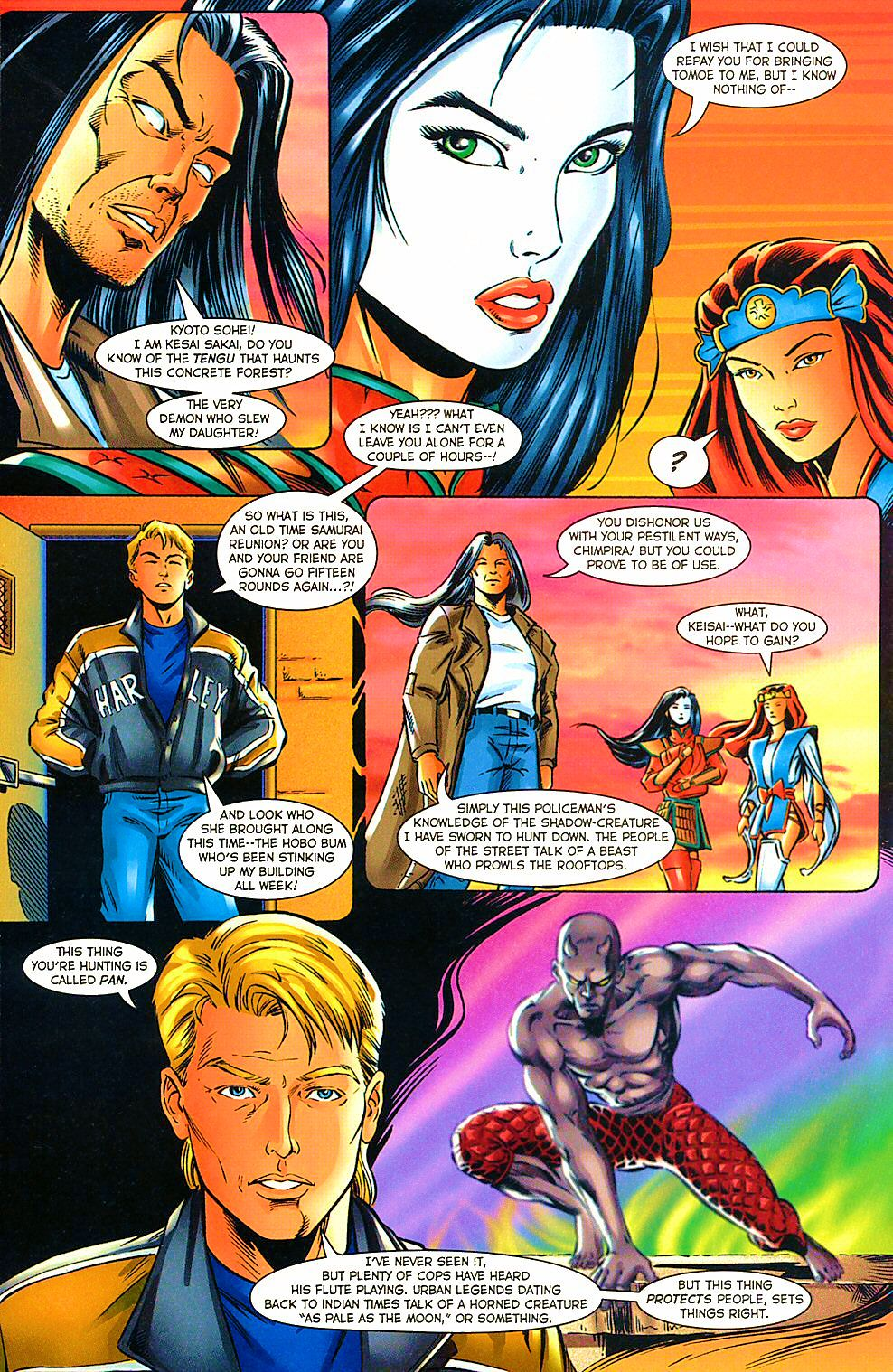 Read online Shi: The Way of the Warrior comic -  Issue #10 - 21