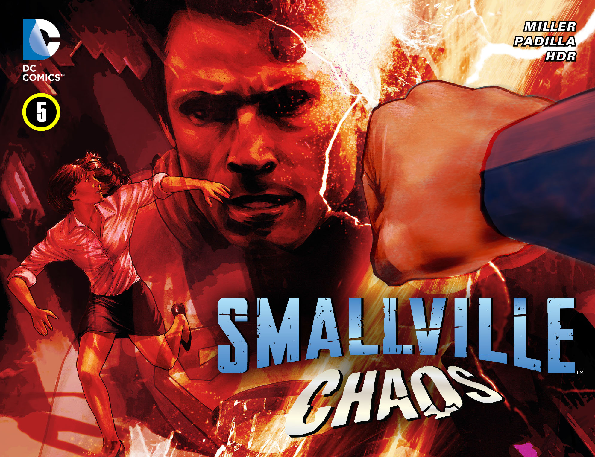 Read online Smallville: Chaos [II] comic -  Issue #5 - 1