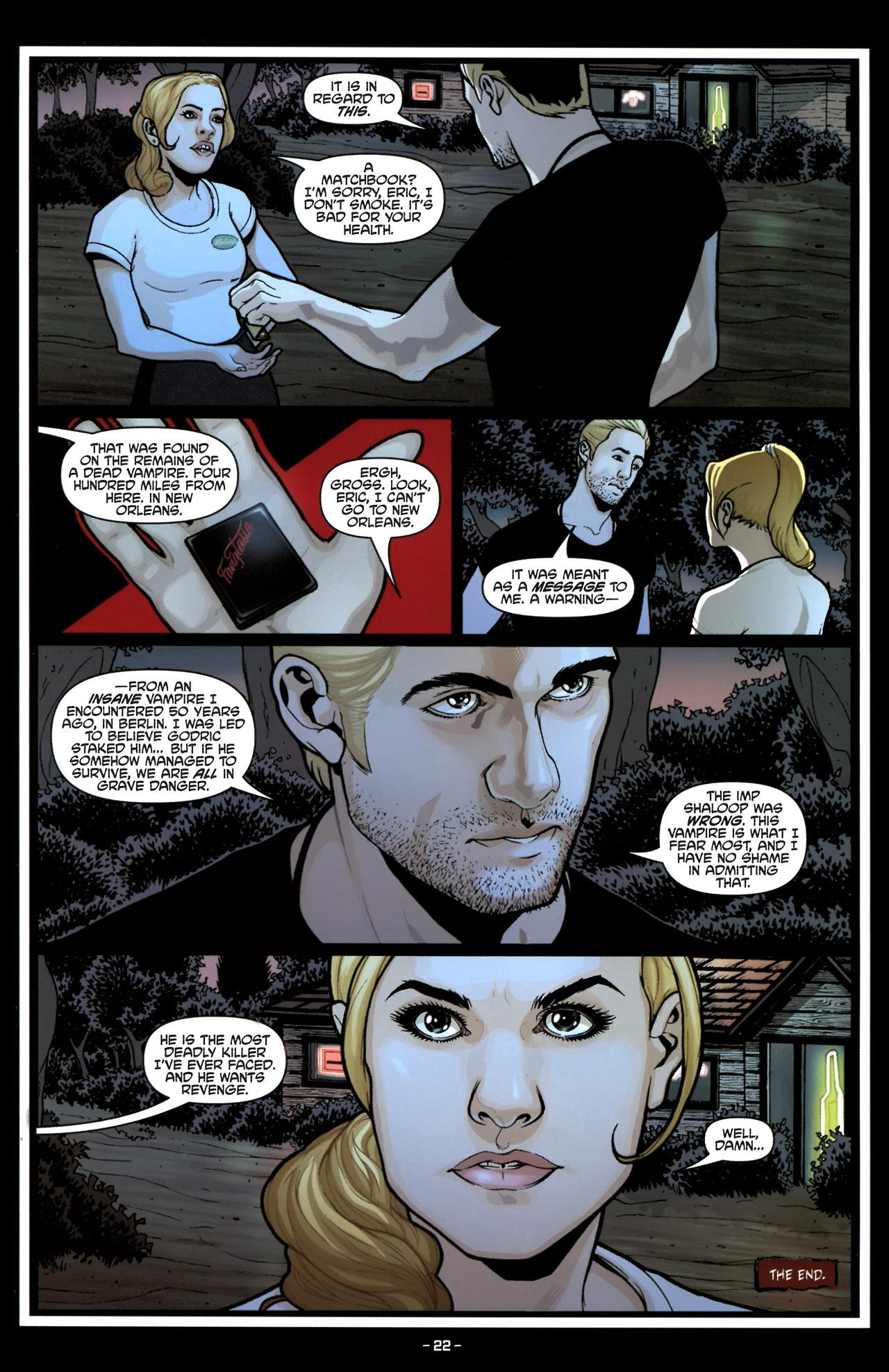 Read online True Blood (2010) comic -  Issue #6 - 24