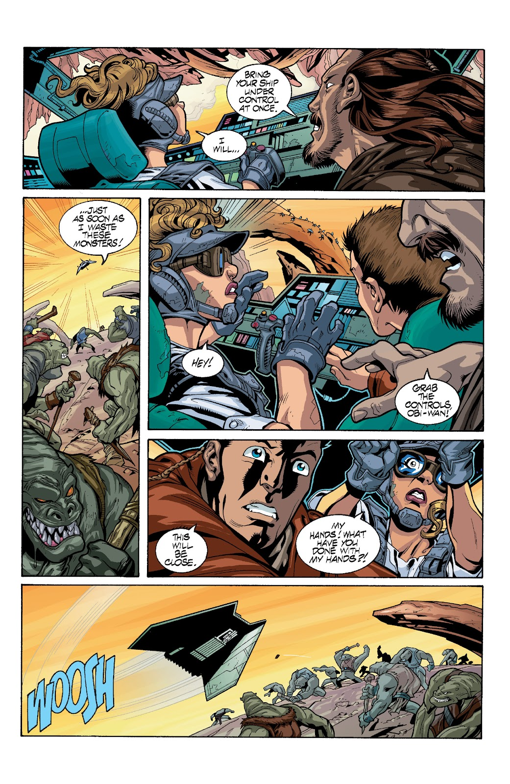 Read online Star Wars Legends: Rise of the Sith - Epic Collection comic -  Issue # TPB 1 (Part 4) - 7