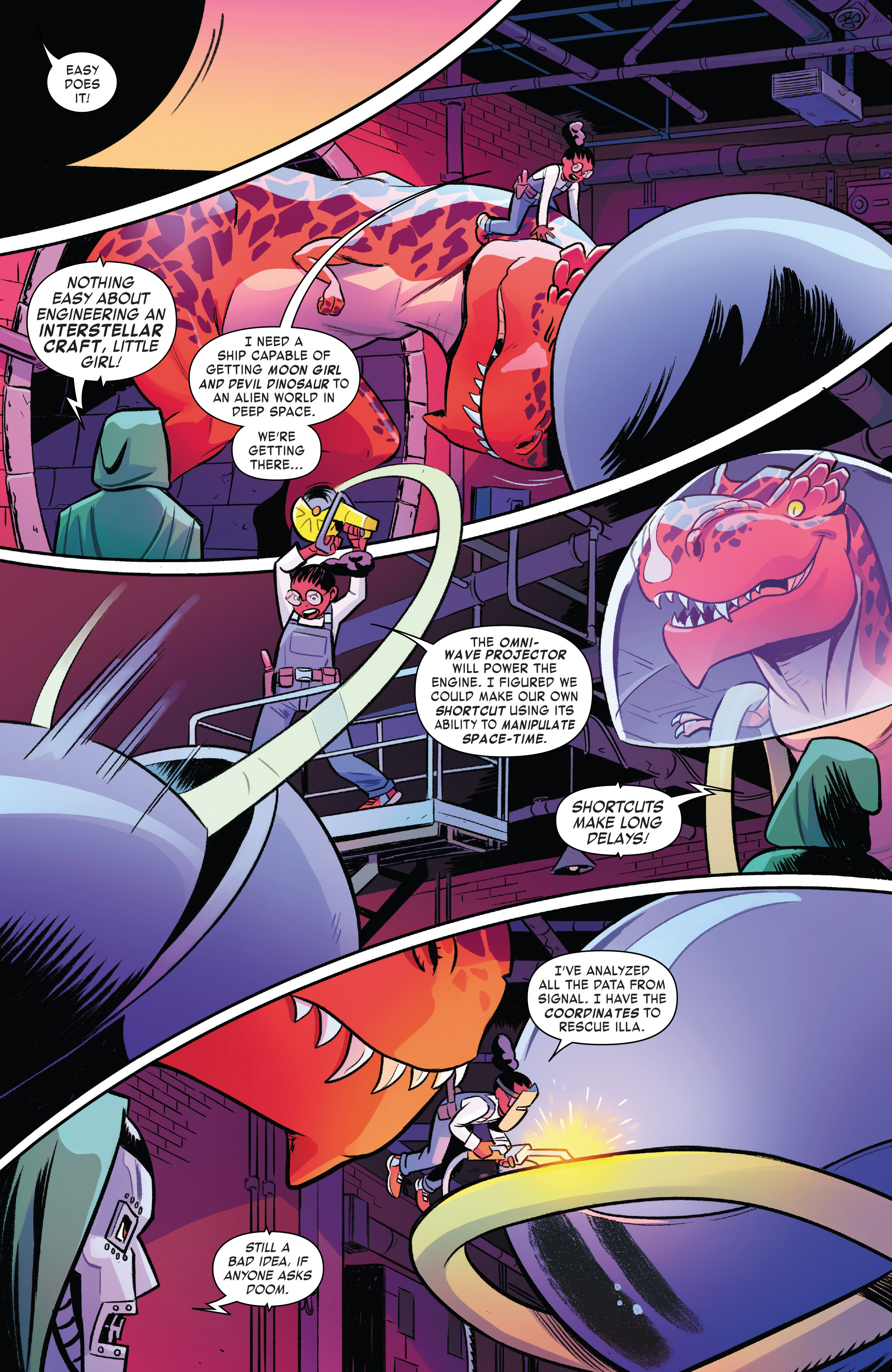Read online Moon Girl And Devil Dinosaur comic -  Issue #19 - 13
