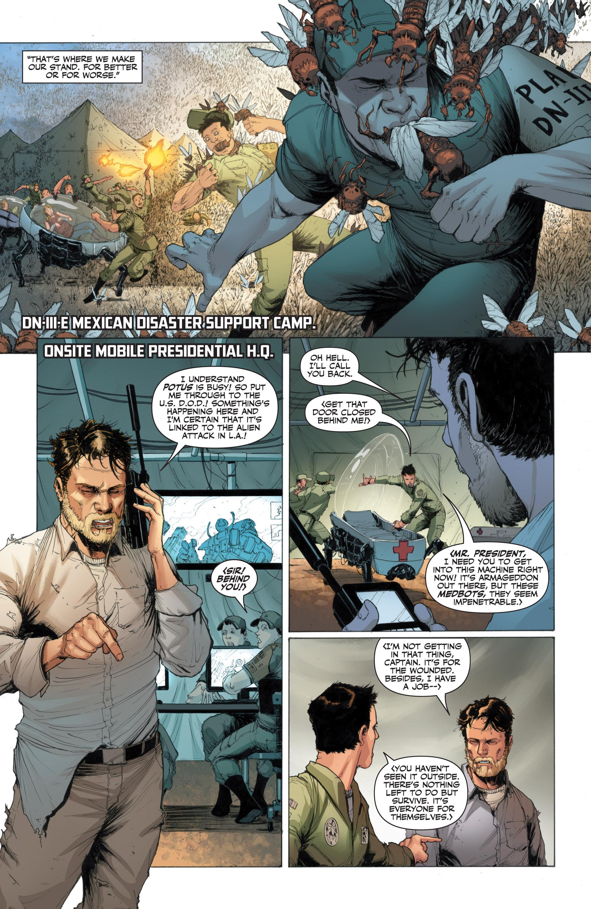 Read online Armor Hunters: Harbinger comic -  Issue # TPB - 66
