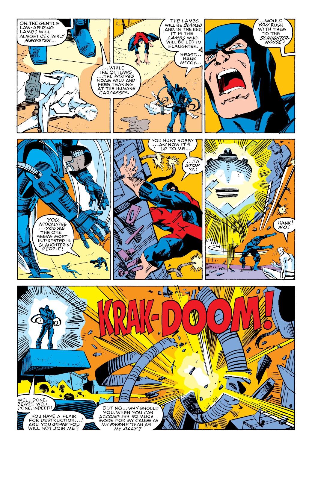 Read online X-Men Milestones: Fall of the Mutants comic -  Issue # TPB (Part 3) - 19