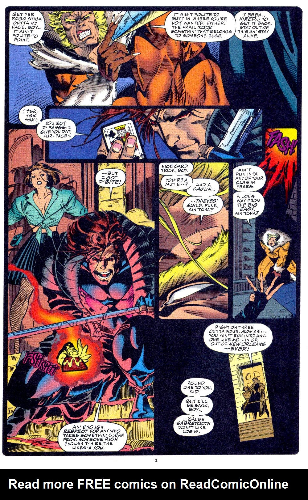 X-Men (1991) 33 Page 4