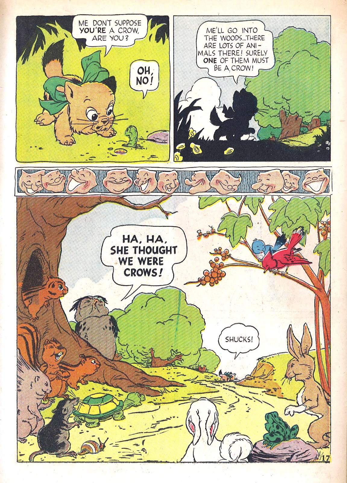 Read online Animal Comics comic -  Issue #4 - 20
