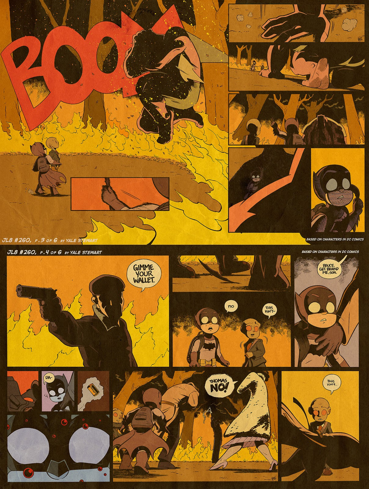 Read online JL8 – The Complete Collection comic -  Issue # TPB (Part 2) - 71