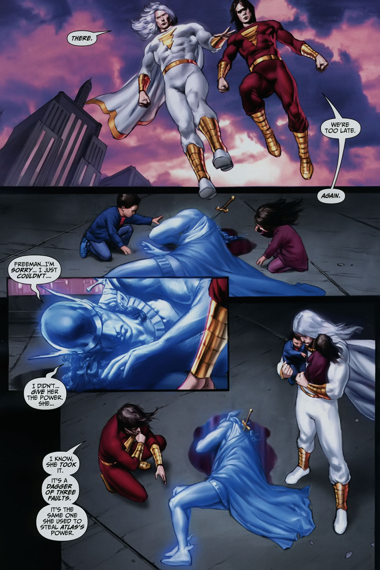 Read online Trials of Shazam comic -  Issue #11 - 19