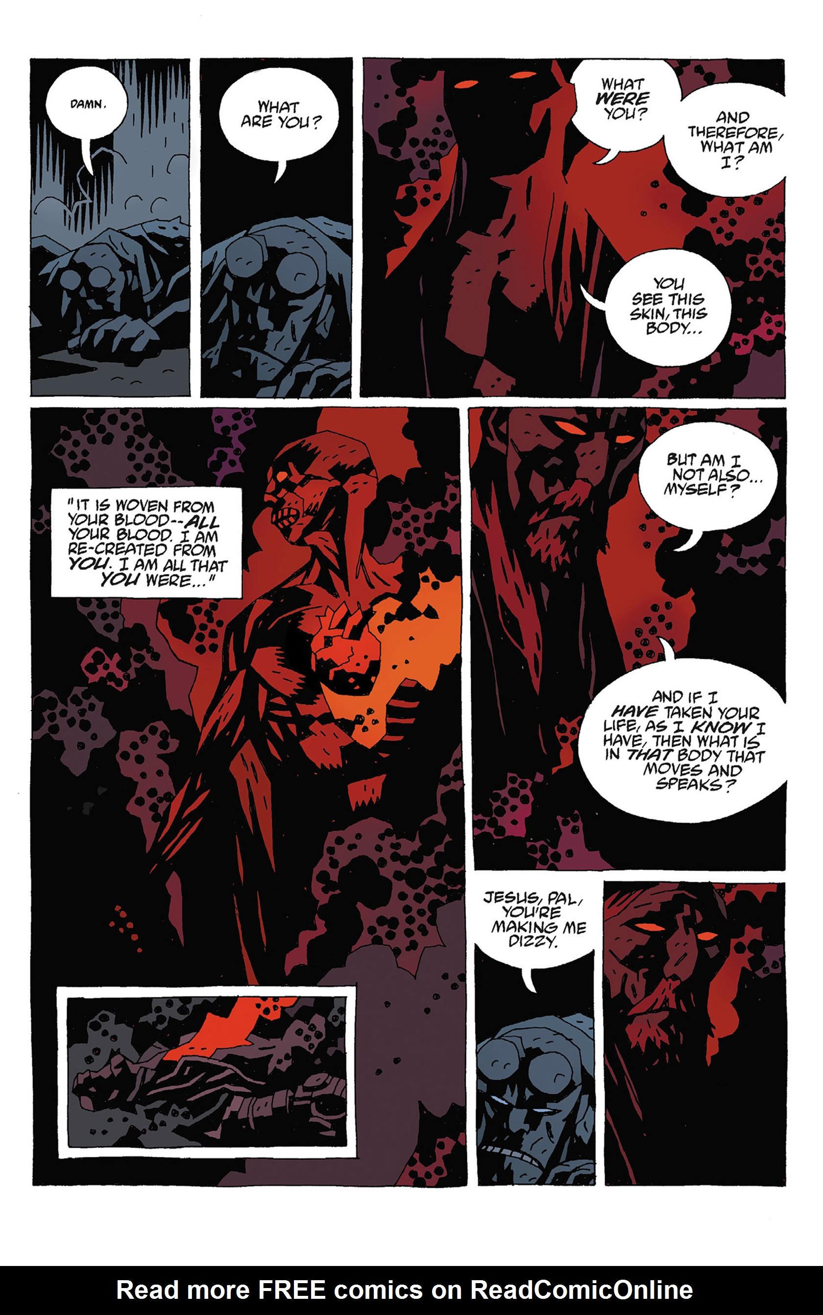 Read online Hellboy: Strange Places comic -  Issue # TPB - 99