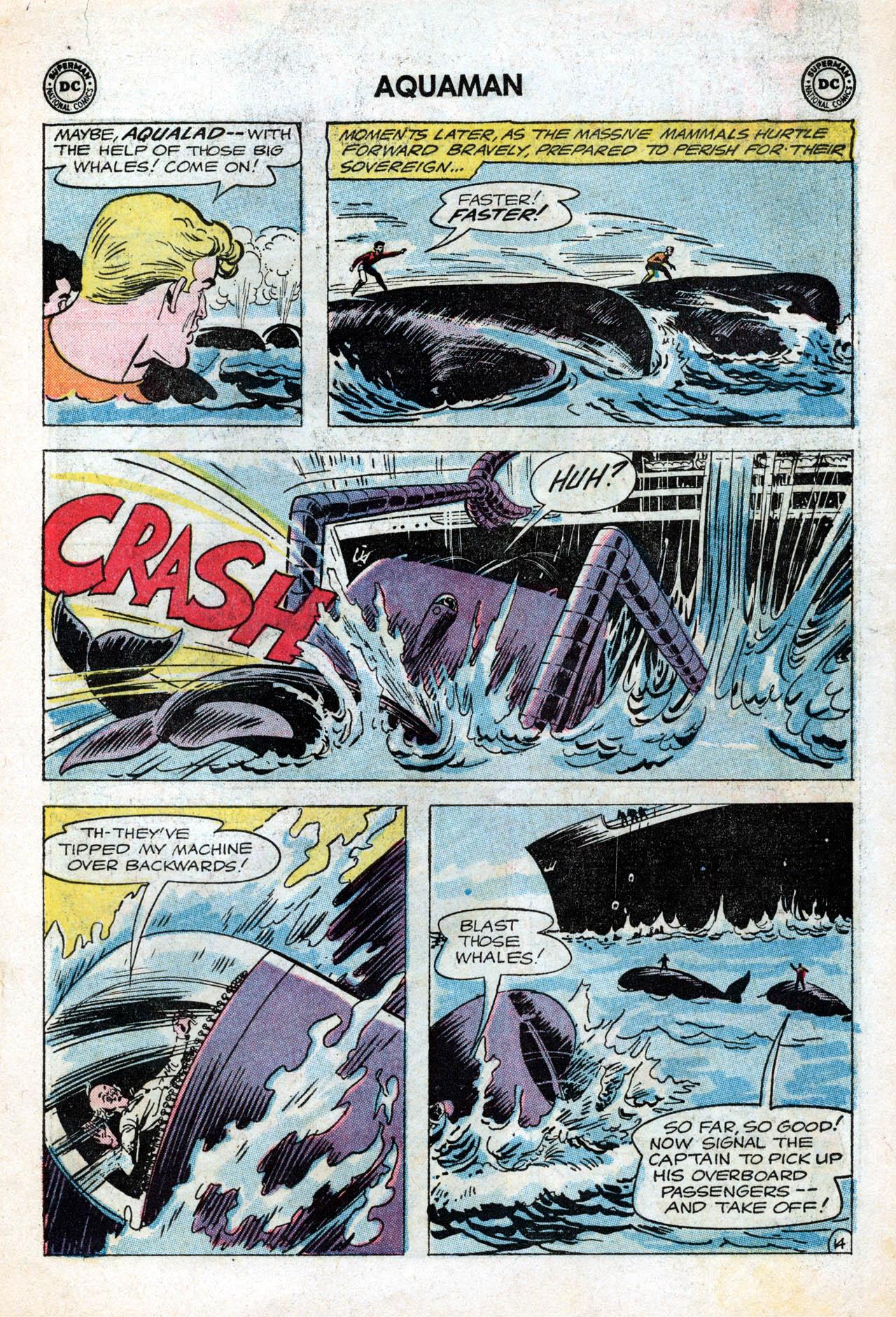 Read online Aquaman (1962) comic -  Issue #15 - 19