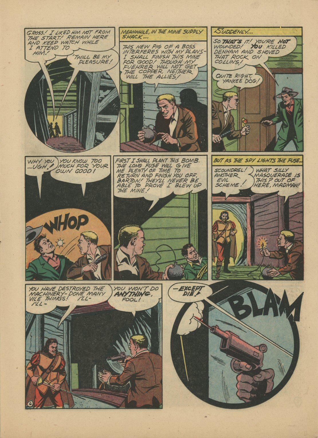 Read online Sensation (Mystery) Comics comic -  Issue #21 - 28