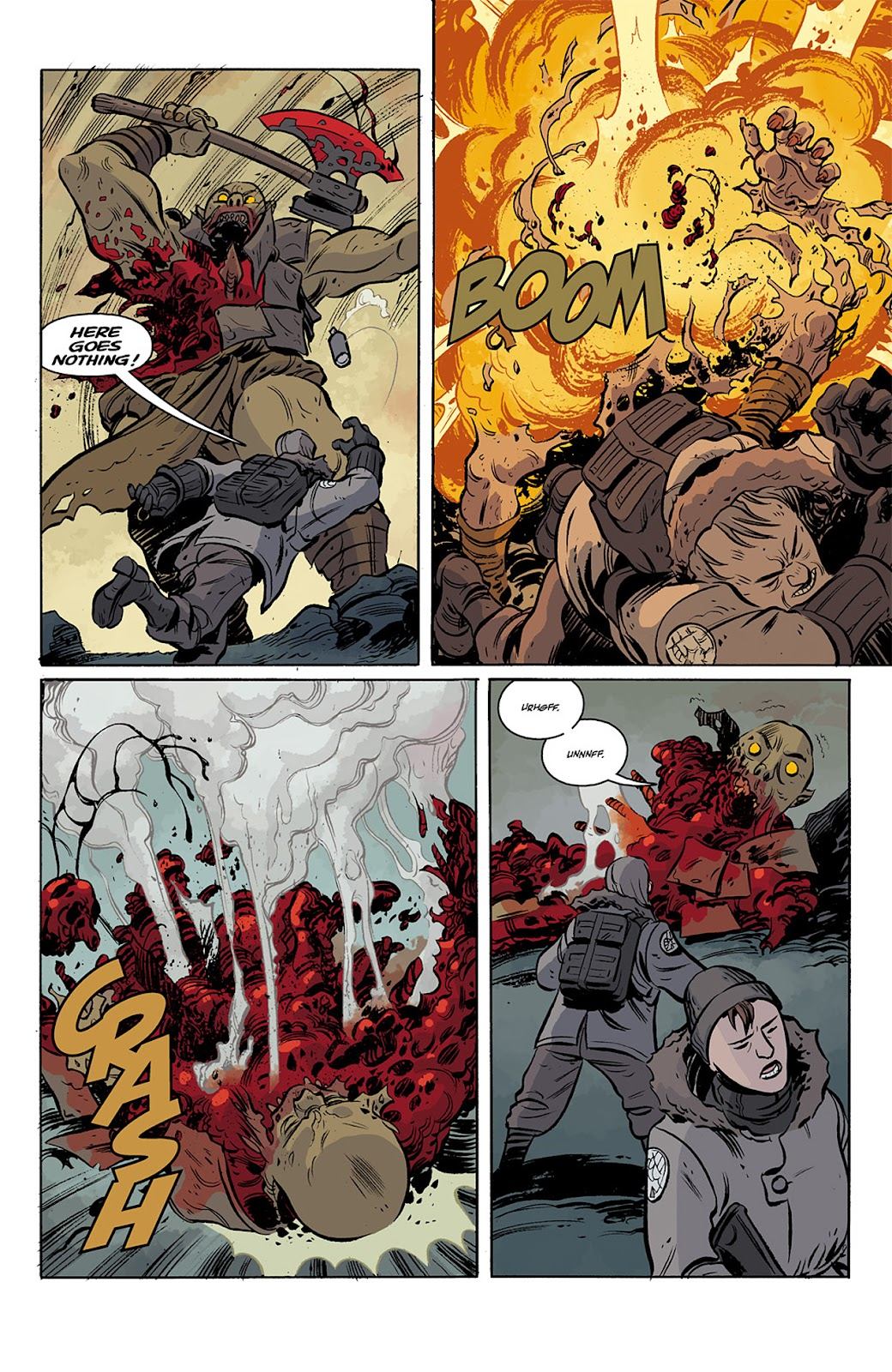 Read online B.P.R.D. Hell on Earth: The Return of the Master comic -  Issue #3 - 23