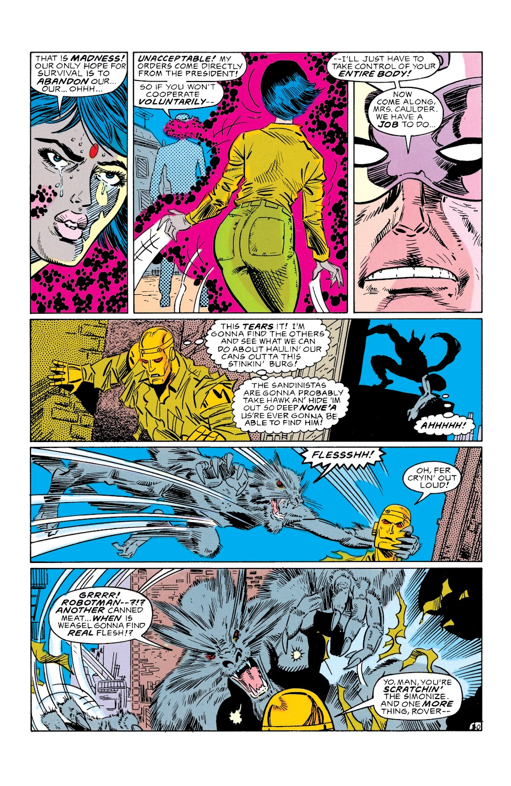 Doom Patrol and Suicide Squad Special issue Special 1 - Page 29