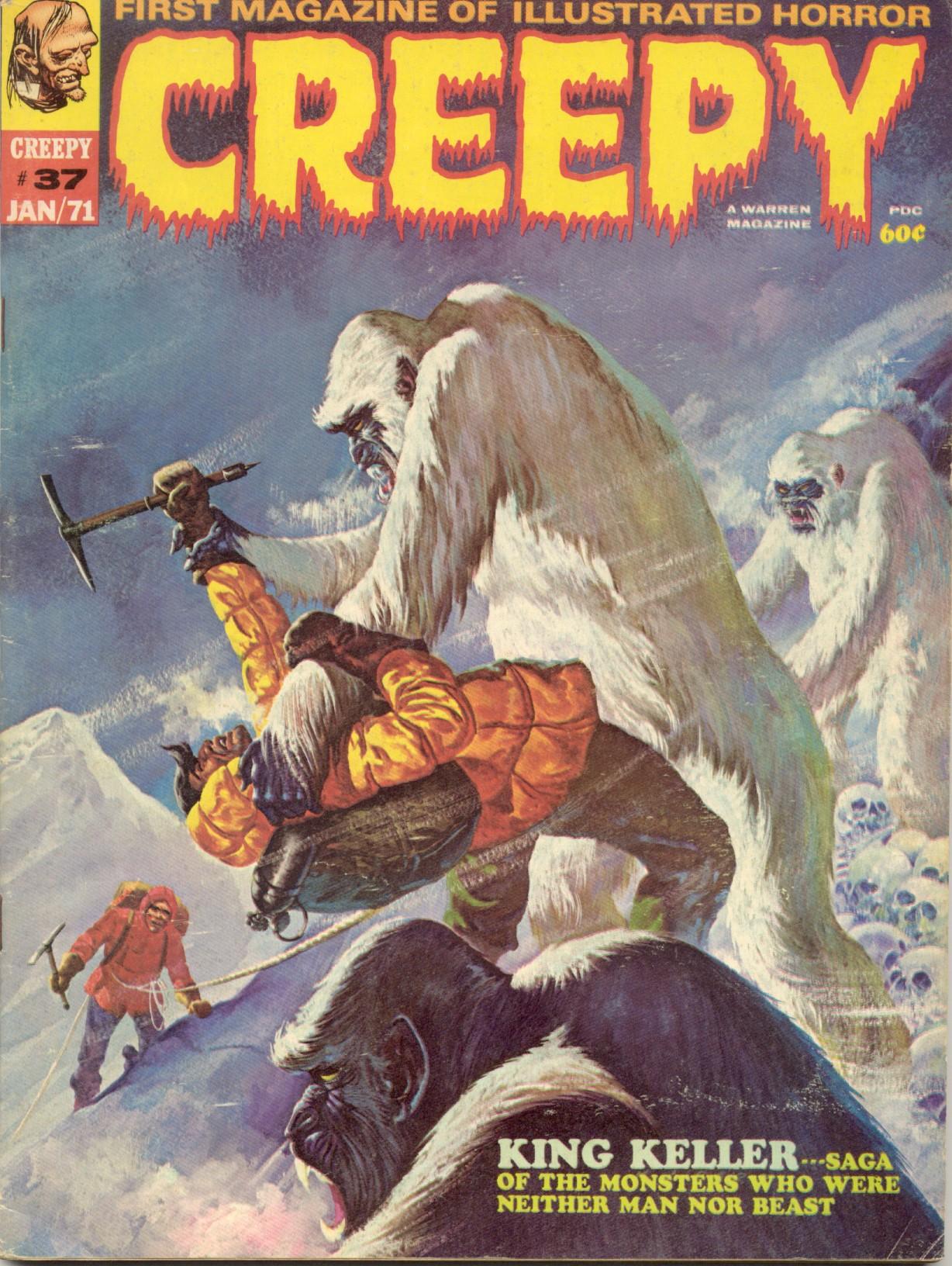 Creepy (1964) 37 Page 1
