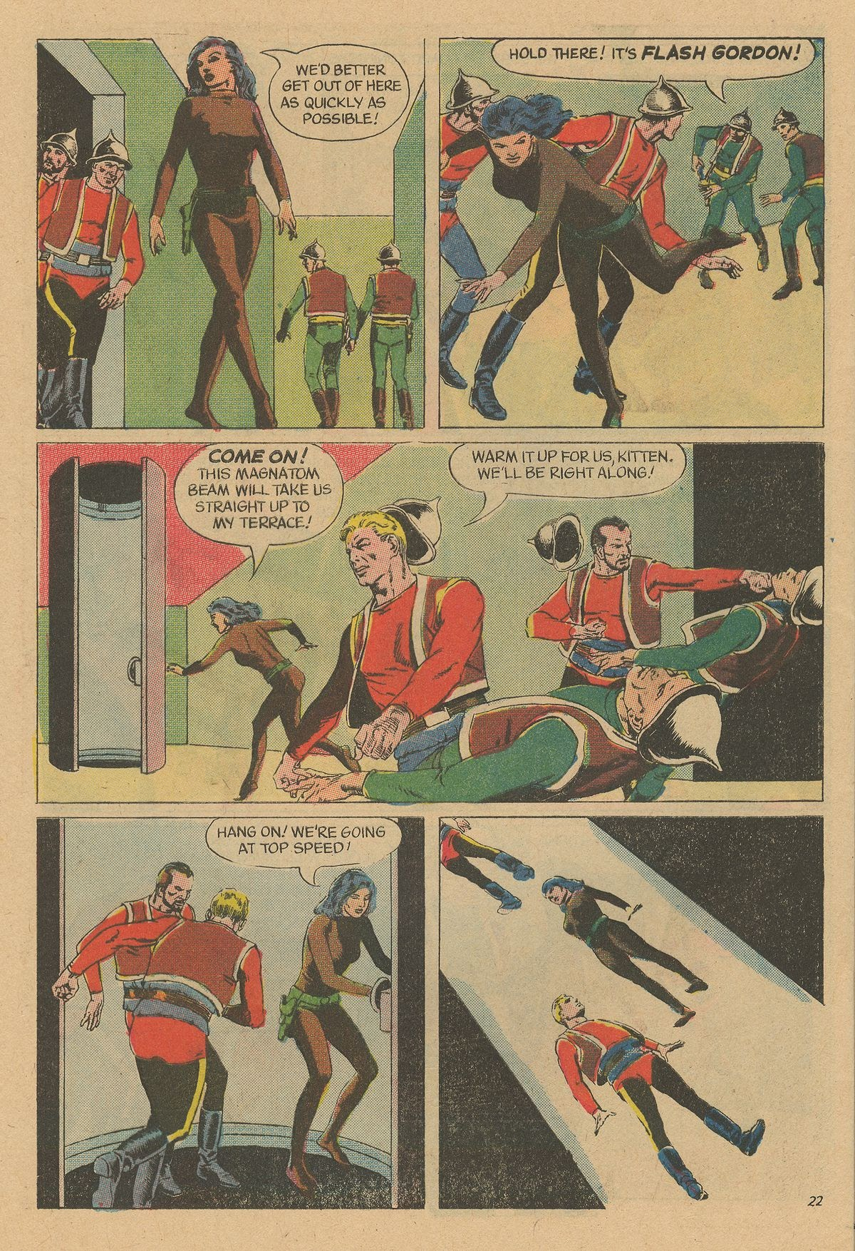 Flash Gordon (1969) issue 12 - Page 28