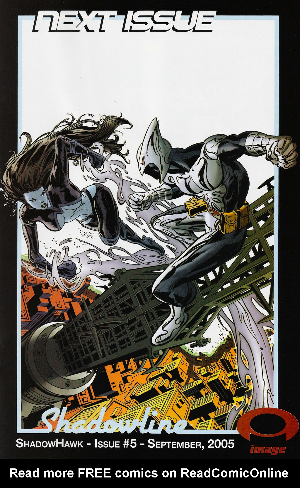 Read online ShadowHawk (2005) comic -  Issue #4 - 24