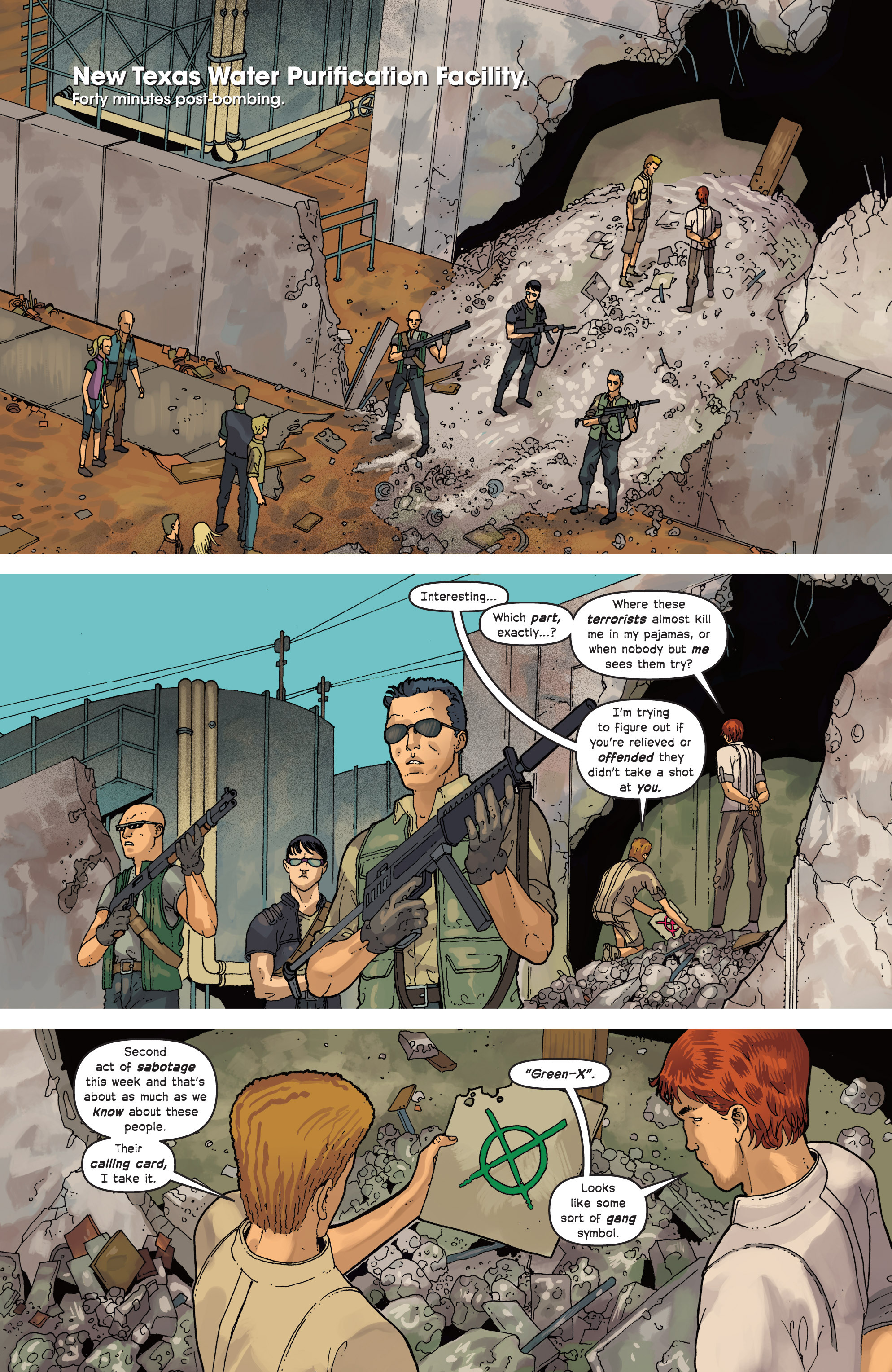 Read online Great Pacific comic -  Issue #7 - 12