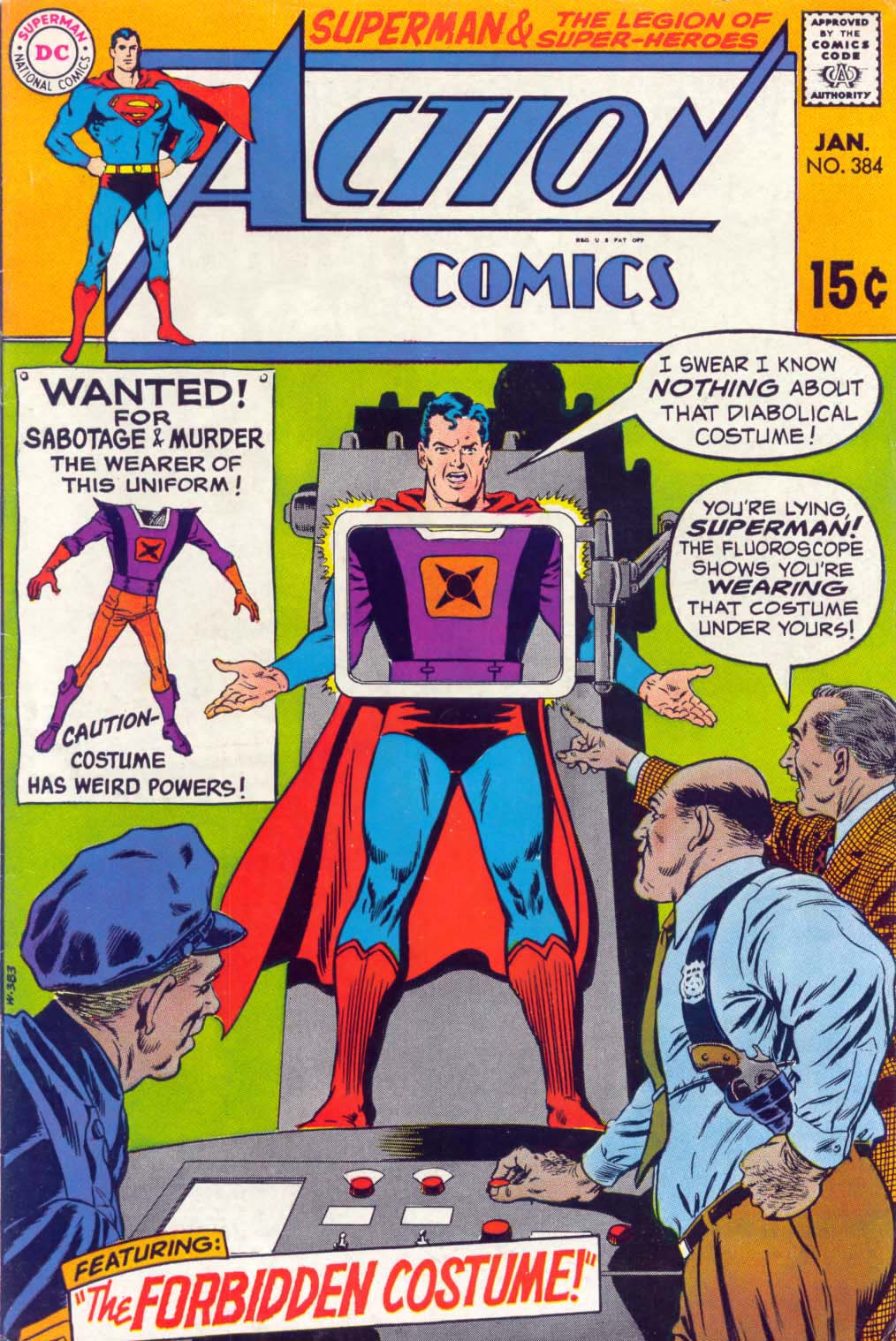 Read online Action Comics (1938) comic -  Issue #384 - 1