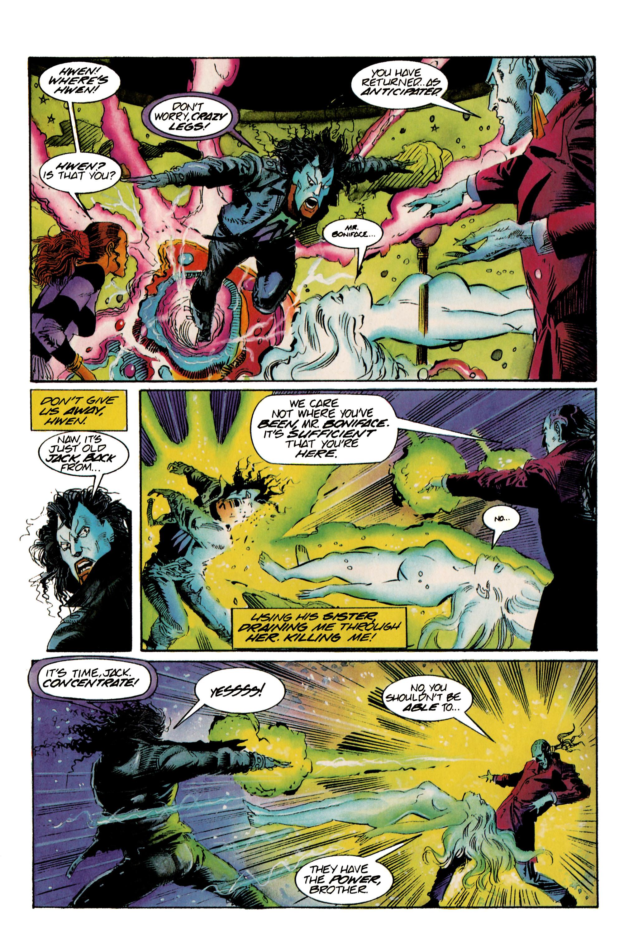 Read online Shadowman (1992) comic -  Issue #23 - 17