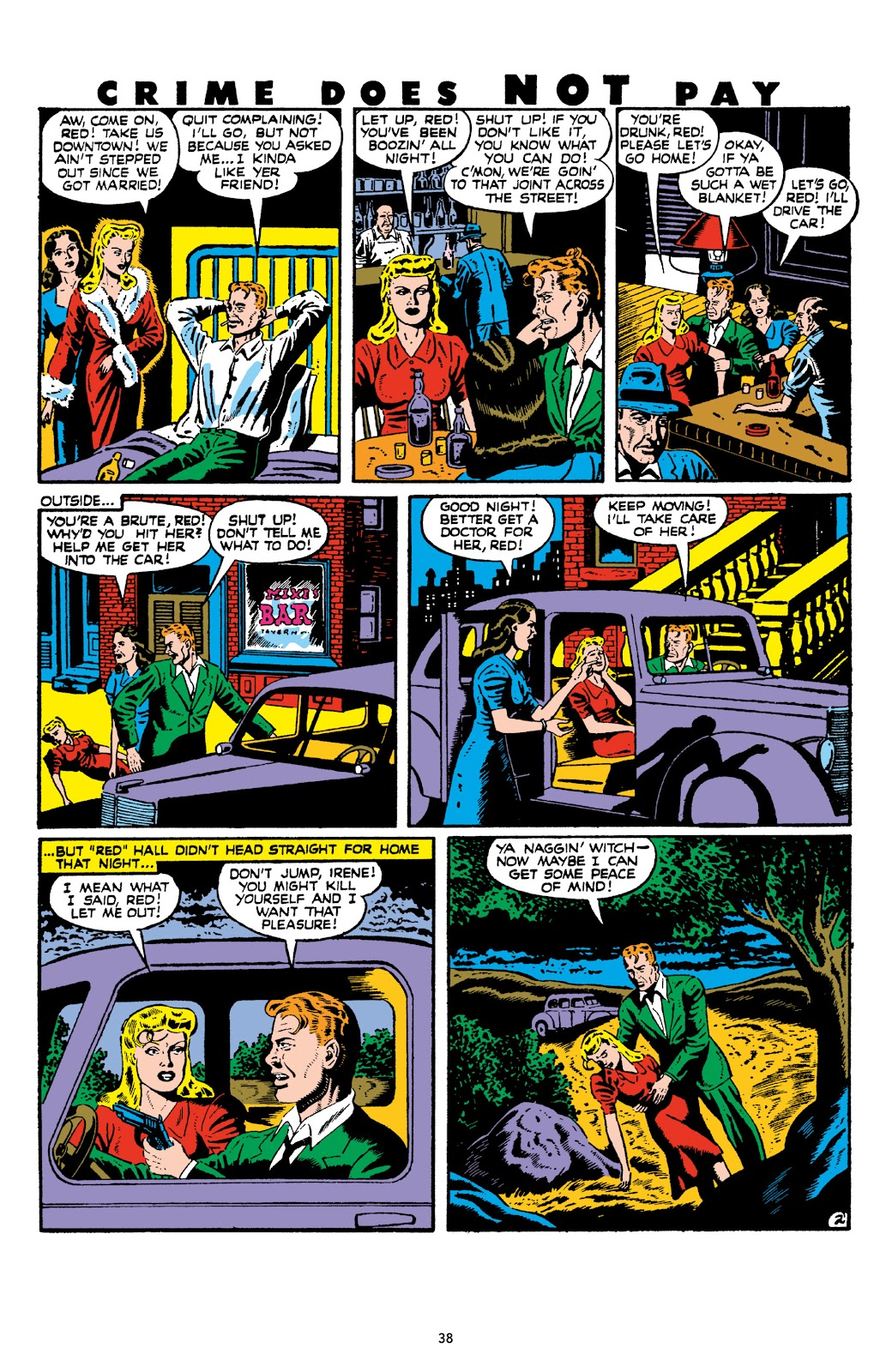 Read online Crime Does Not Pay Archives comic -  Issue # TPB 8 (Part 1) - 40