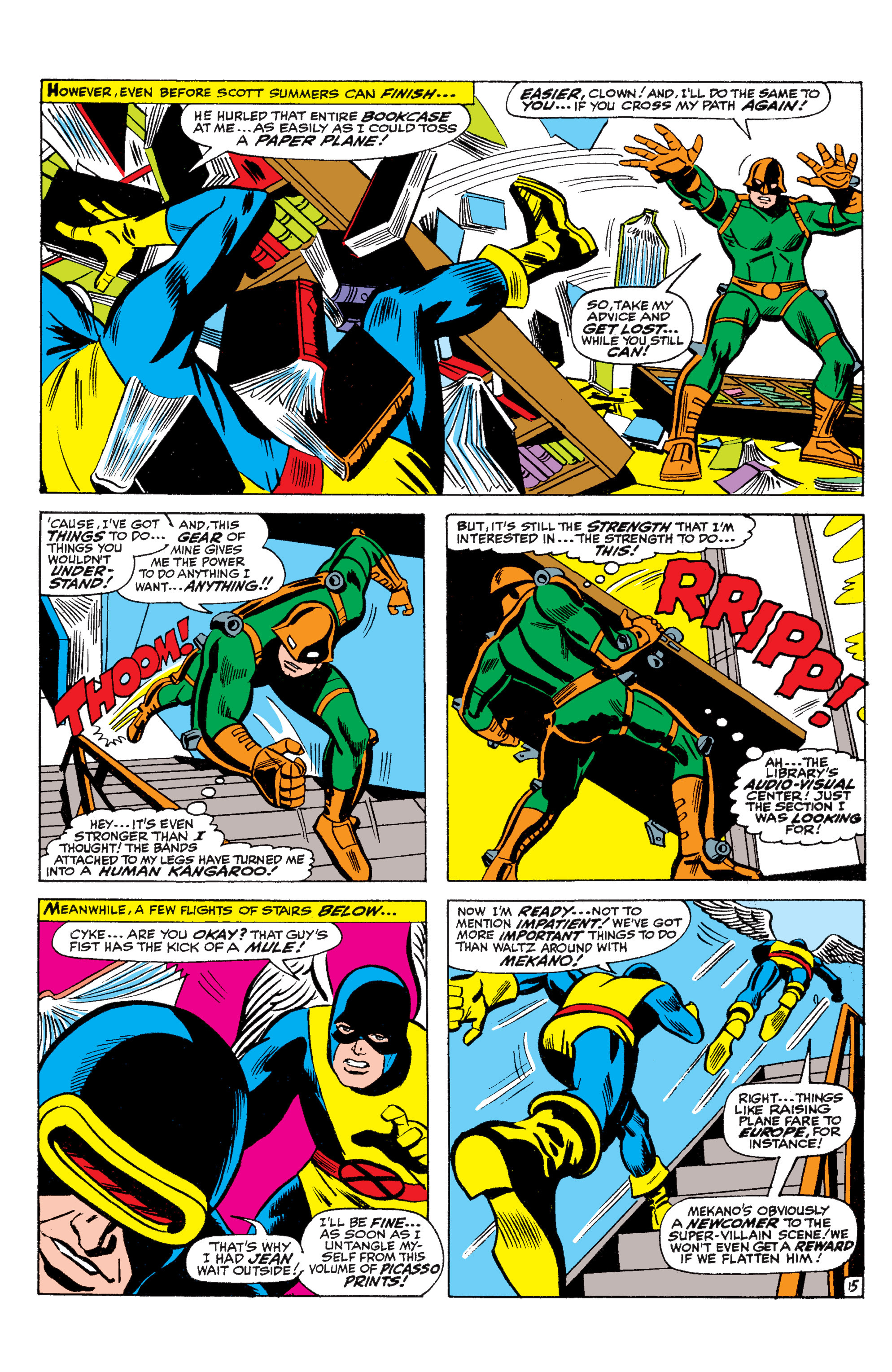 Read online Uncanny X-Men (1963) comic -  Issue #36 - 16