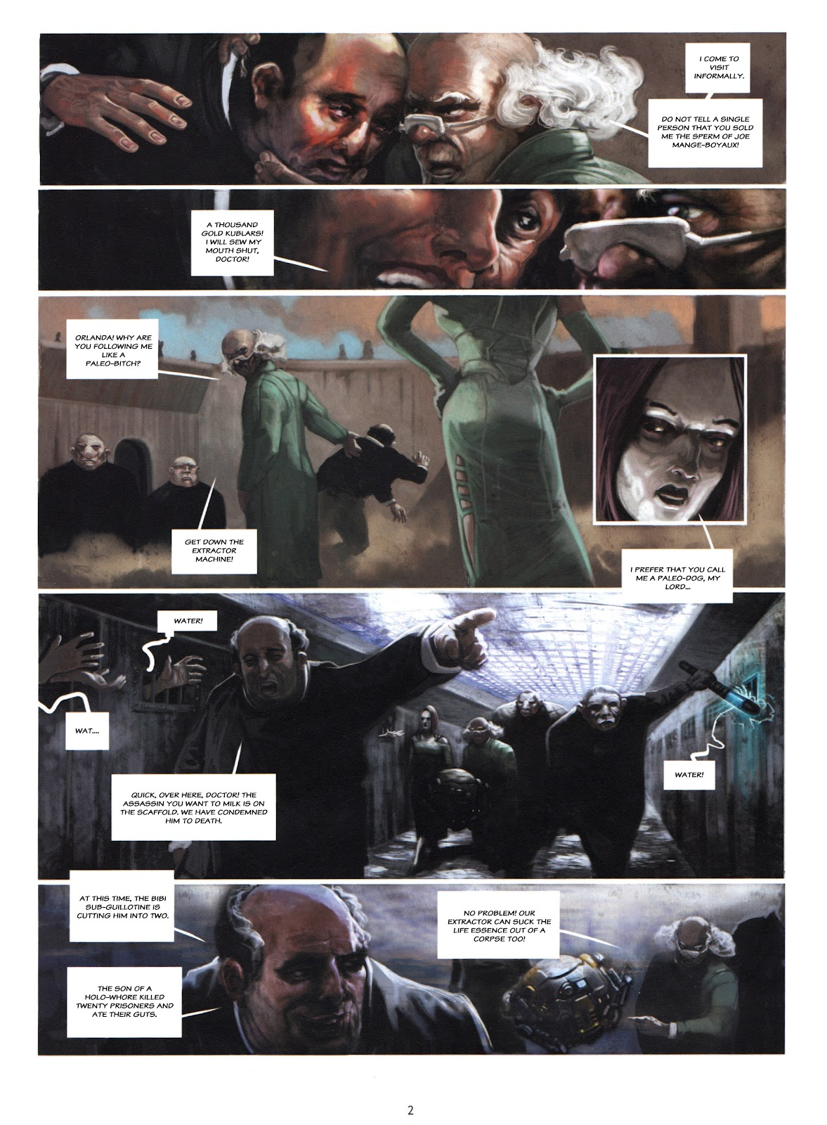 Showman Killer issue 1 - Page 4