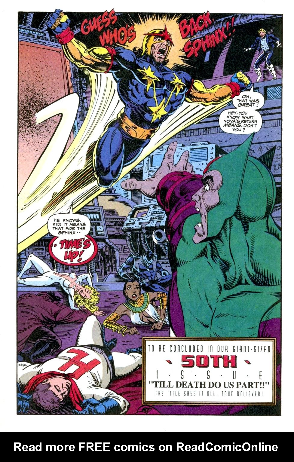 The New Warriors Issue #49 #53 - English 23