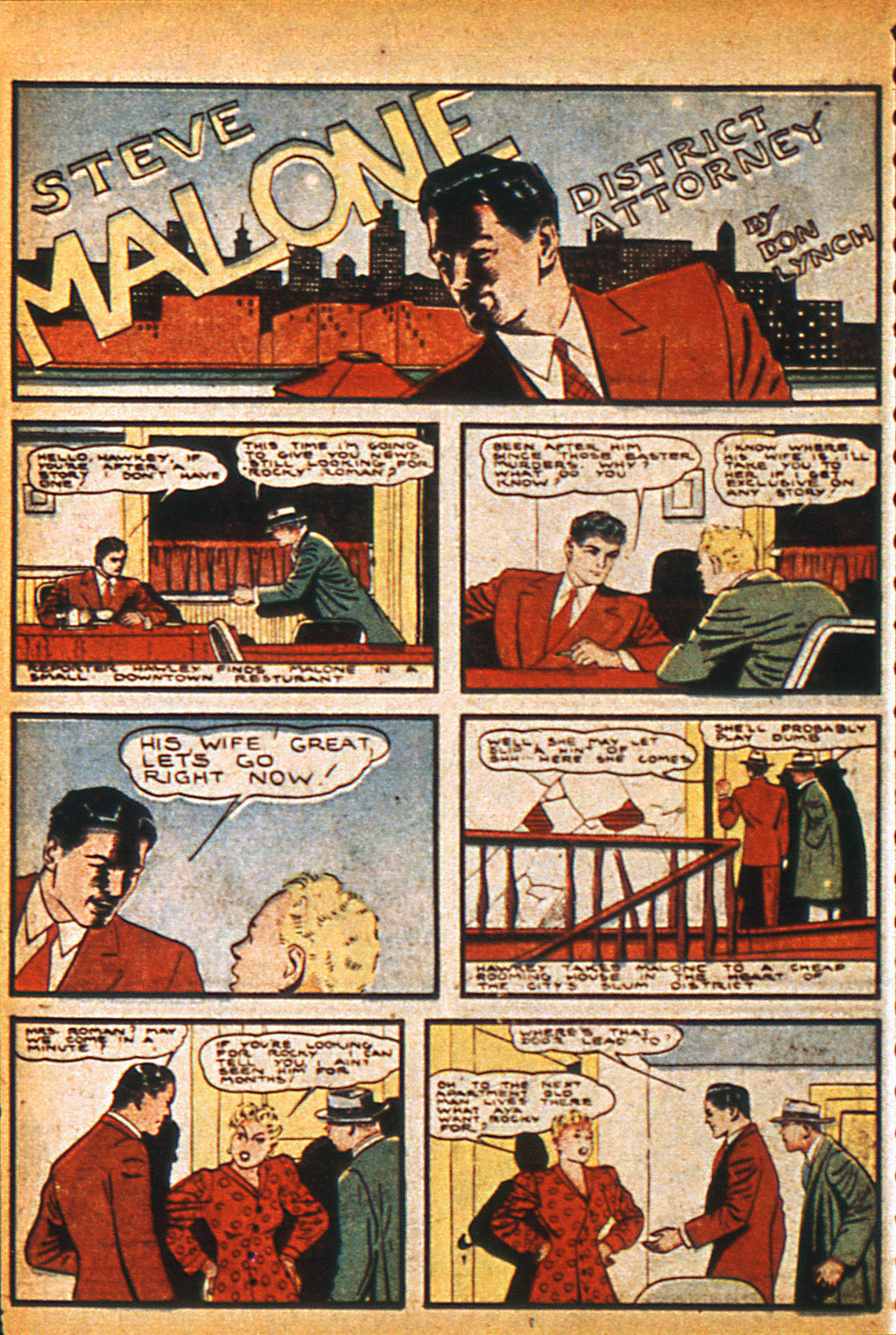 Read online Detective Comics (1937) comic -  Issue #36 - 30