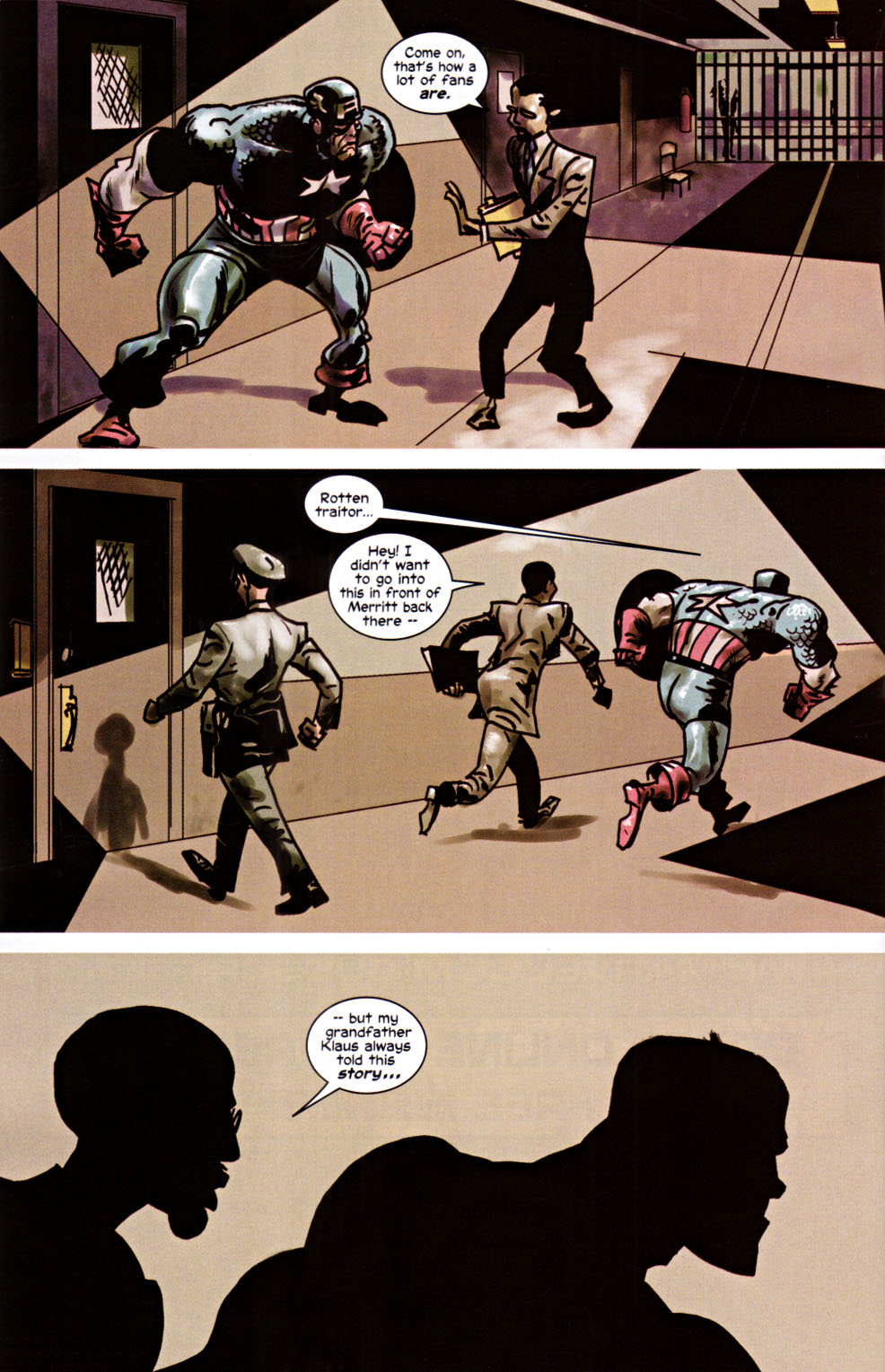 Read online Truth: Red, White & Black comic -  Issue #6 - 22