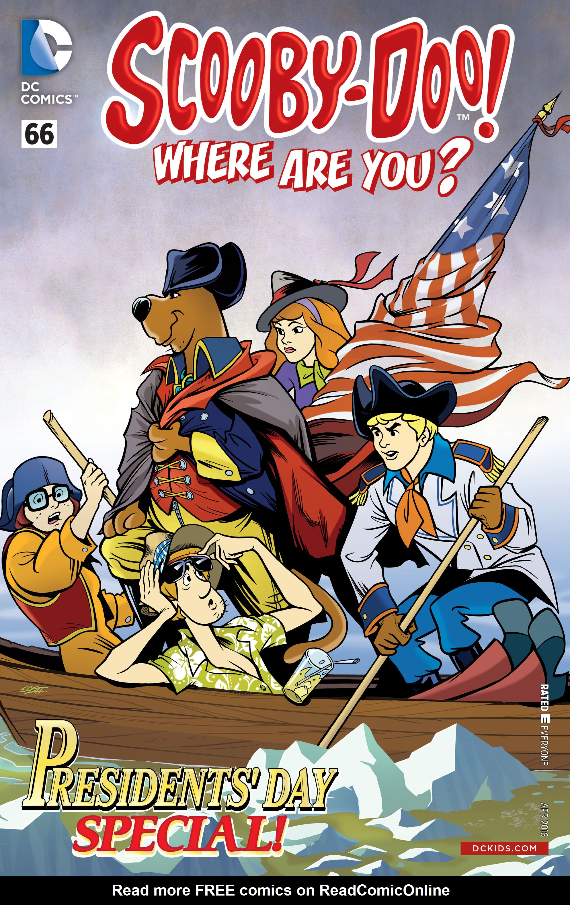 Read online Scooby-Doo: Where Are You? comic -  Issue #66 - 1