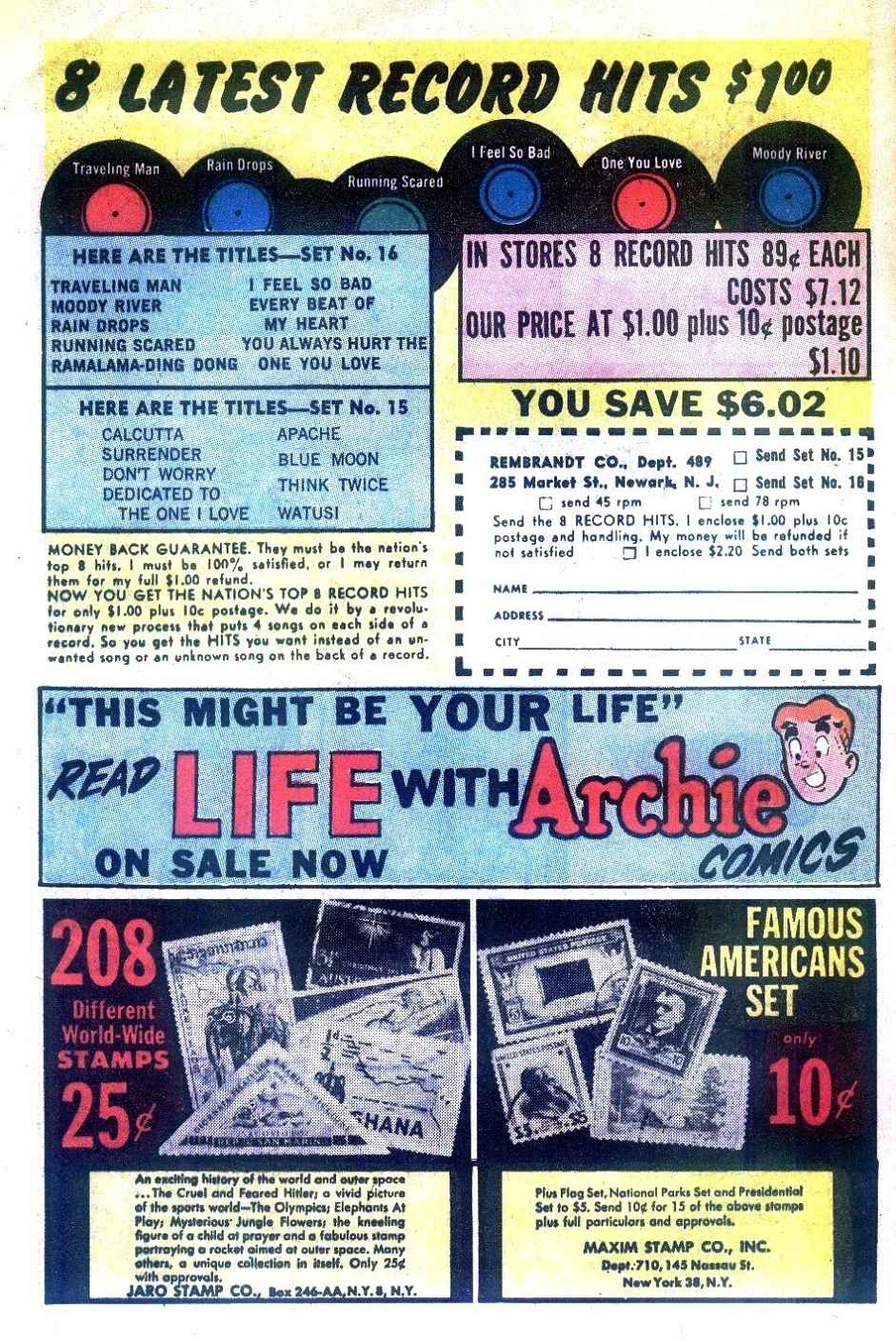 Read online Archie (1960) comic -  Issue #125 - 28