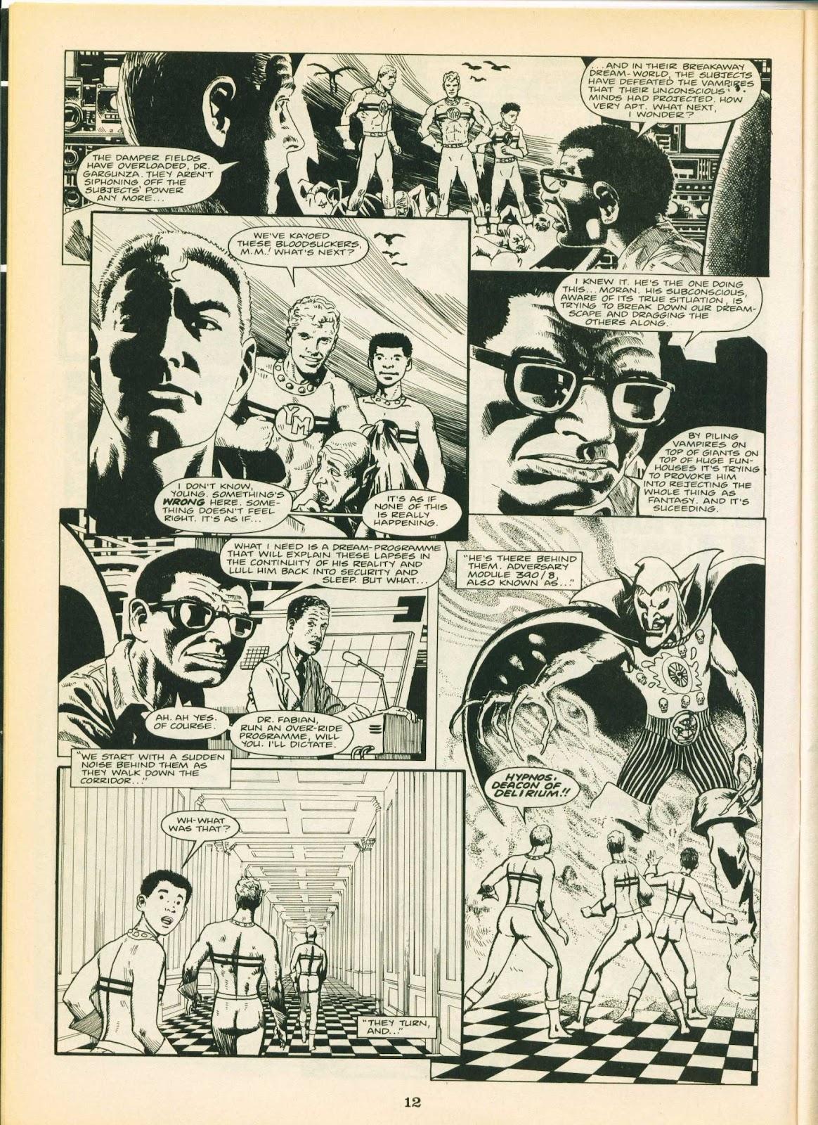 Warrior Issue #17 #18 - English 12