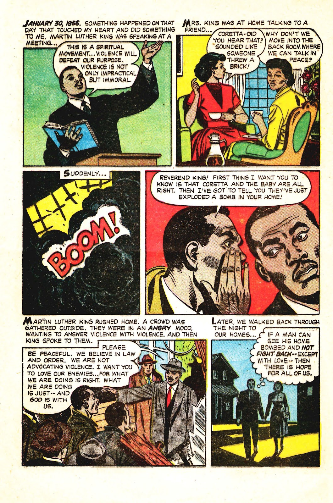 Read online Martin Luther King and the Montgomery Story comic -  Issue # Full - 7