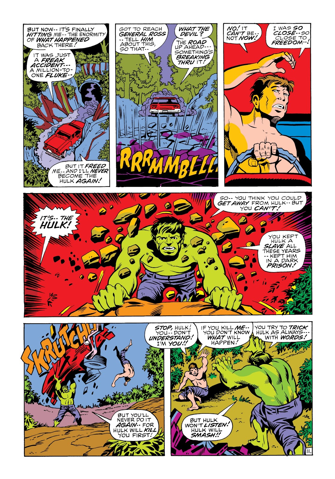 Read online Marvel Masterworks: The Incredible Hulk comic -  Issue # TPB 6 (Part 2) - 85