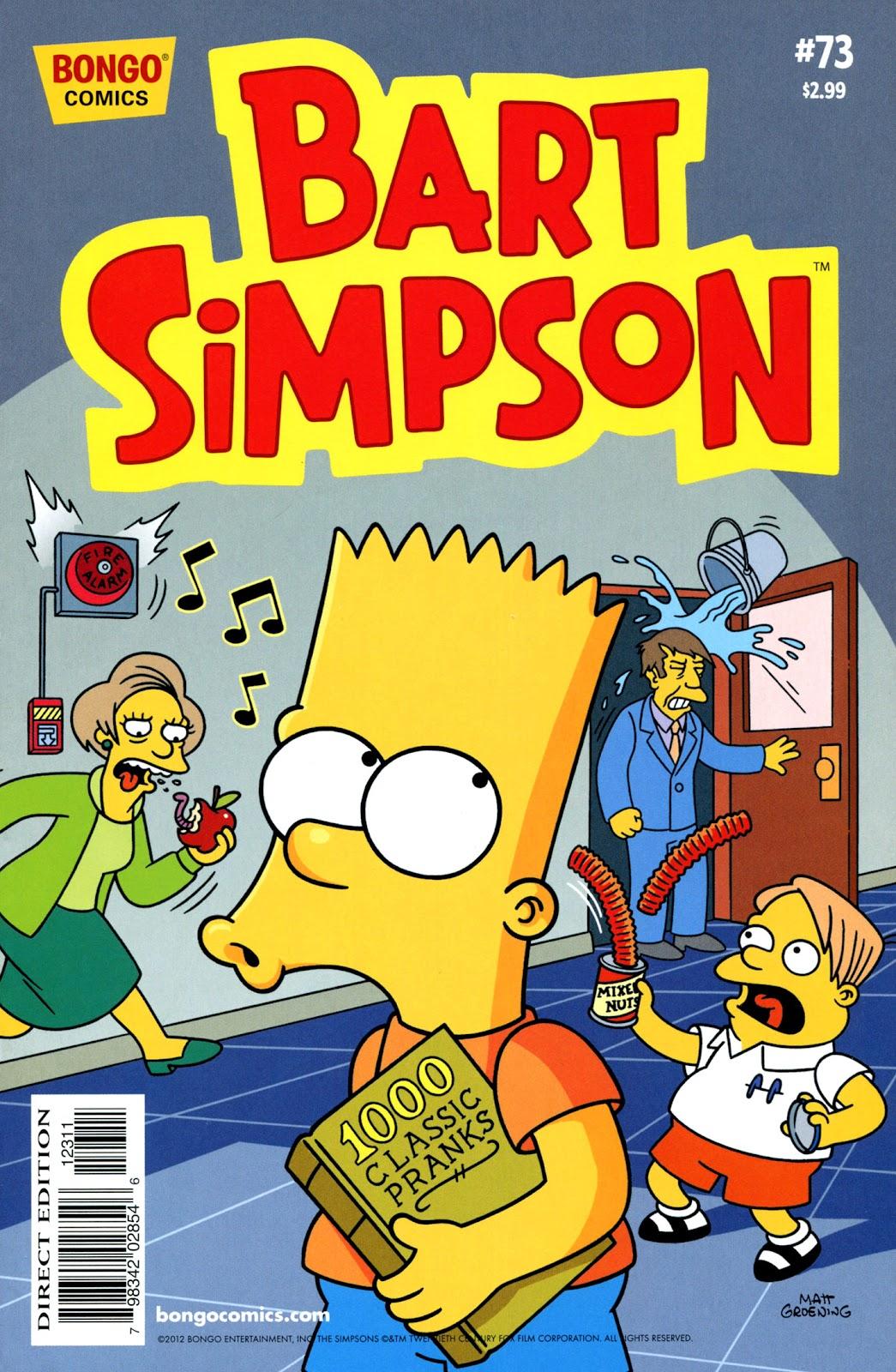 Simpsons Comics Presents Bart Simpson 73 Page 1