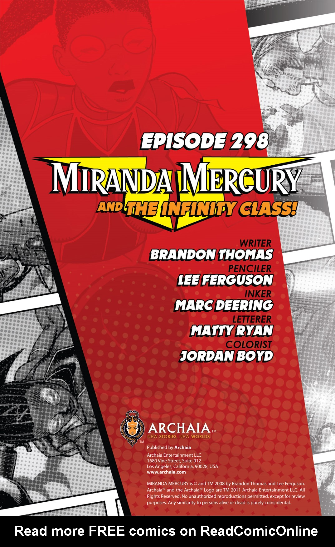 Read online The Many Adventures of Miranda Mercury: Time Runs Out comic -  Issue # TPB - 95