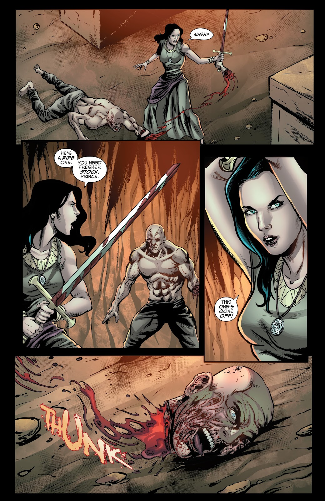Read online Van Helsing: Sword of Heaven comic -  Issue #5 - 7