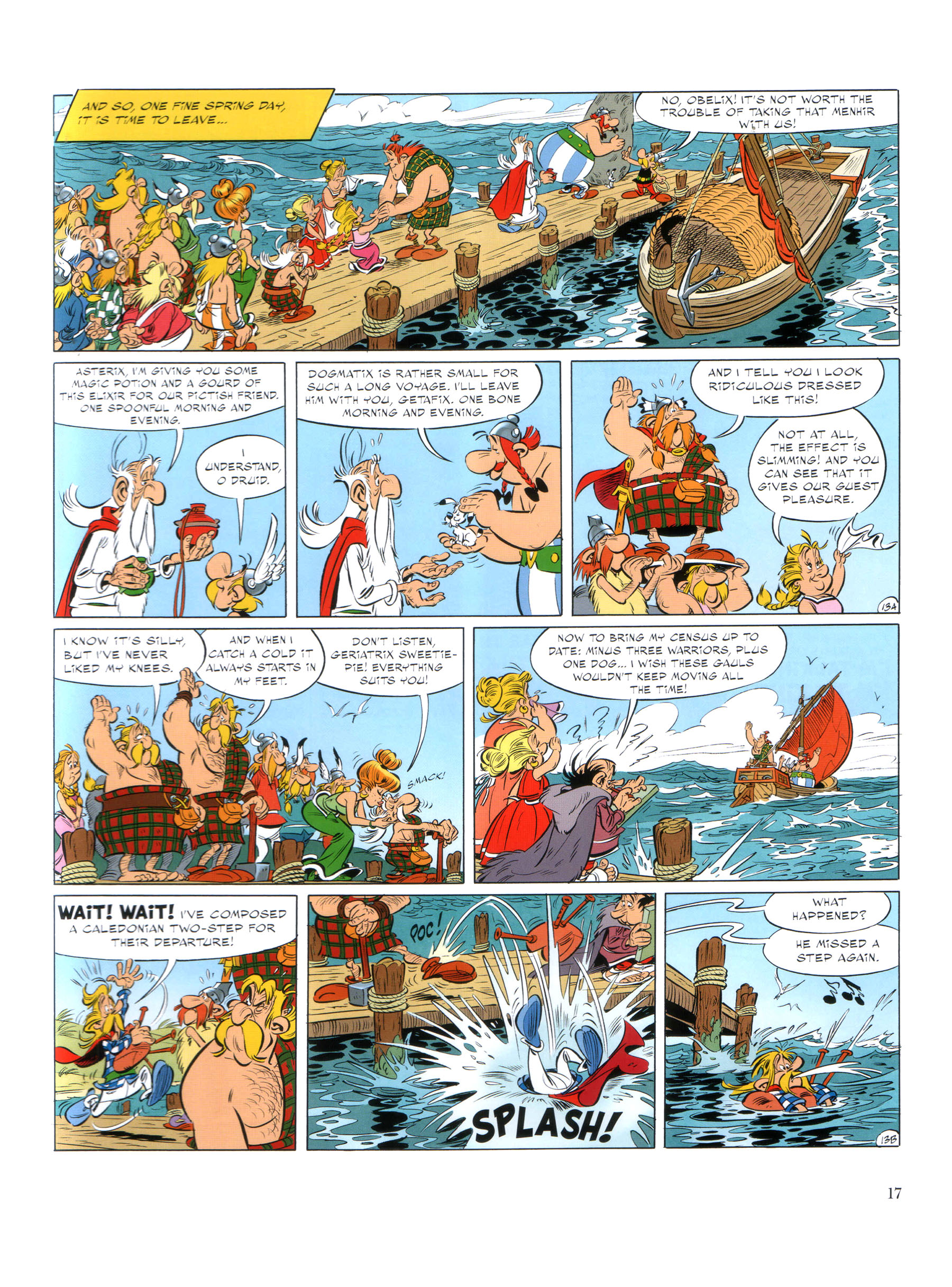Read online Asterix comic -  Issue #35 - 18