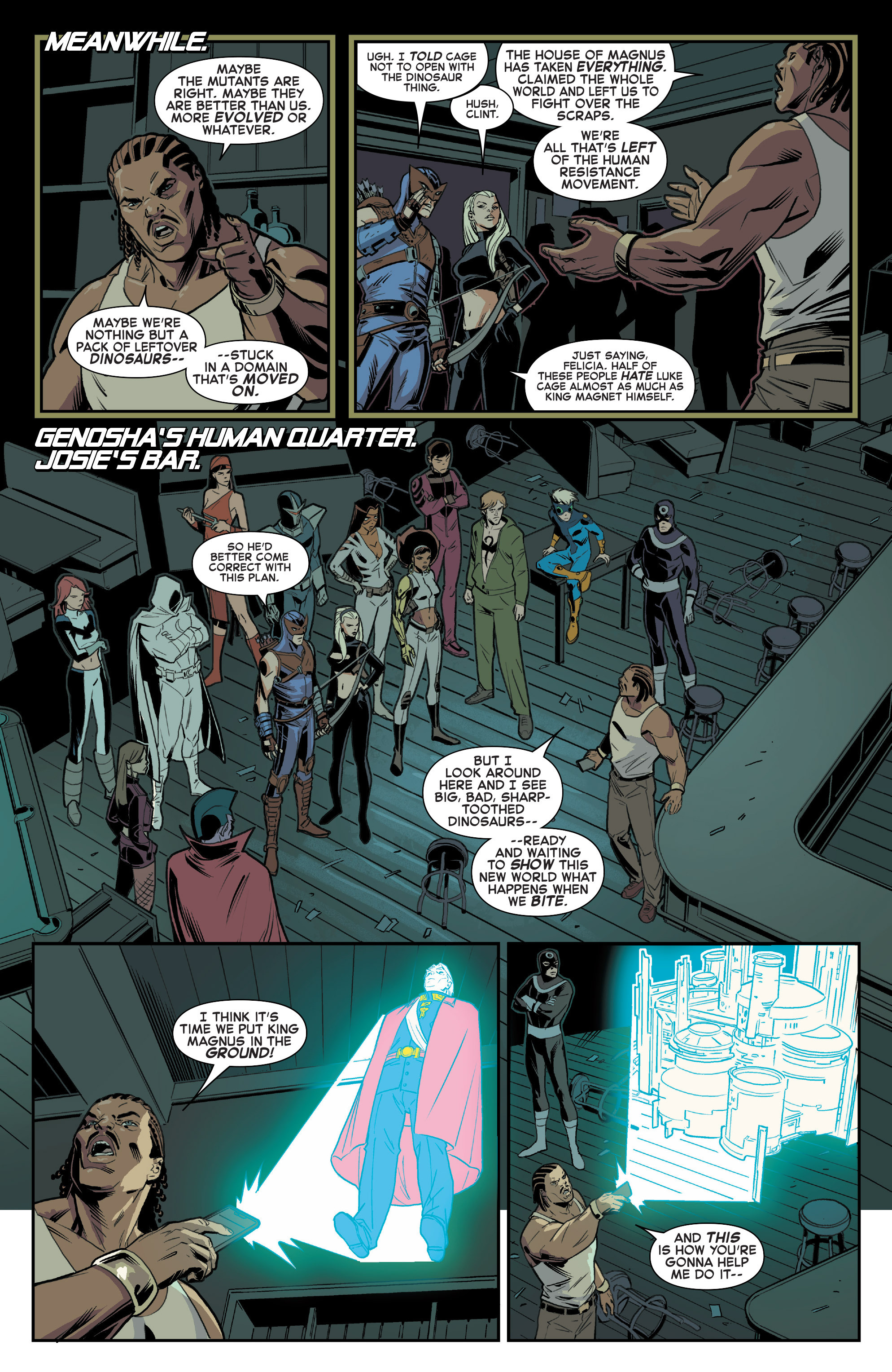 Read online House of M (2015) comic -  Issue #1 - 7