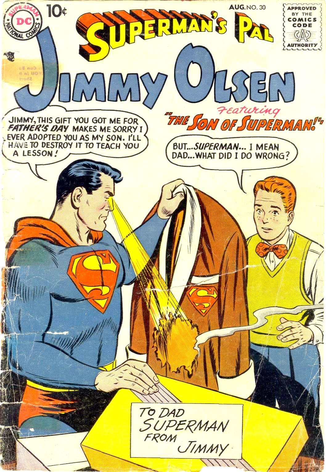 Supermans Pal Jimmy Olsen (1954) 30 Page 1