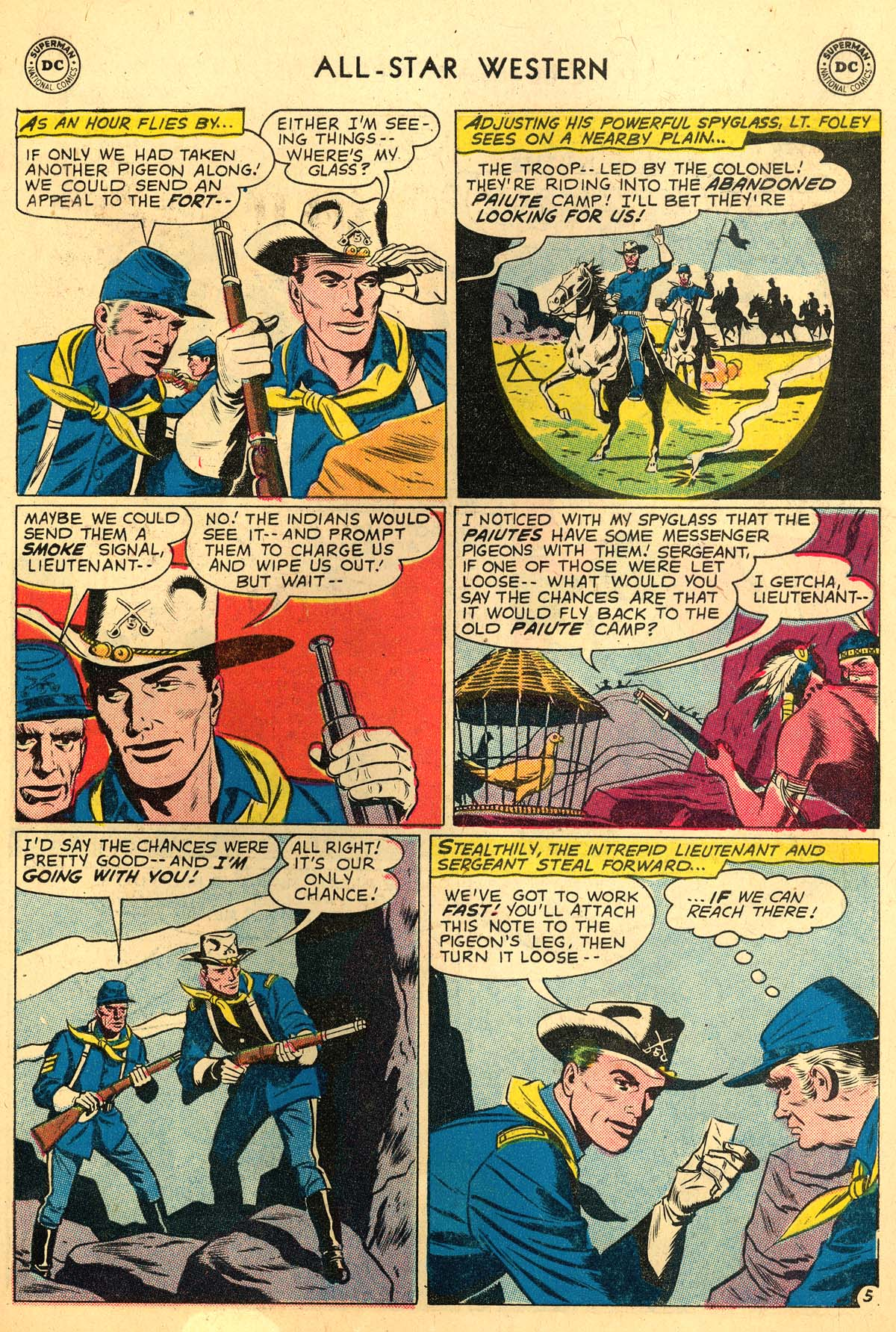 Read online All-Star Western (1951) comic -  Issue #110 - 19